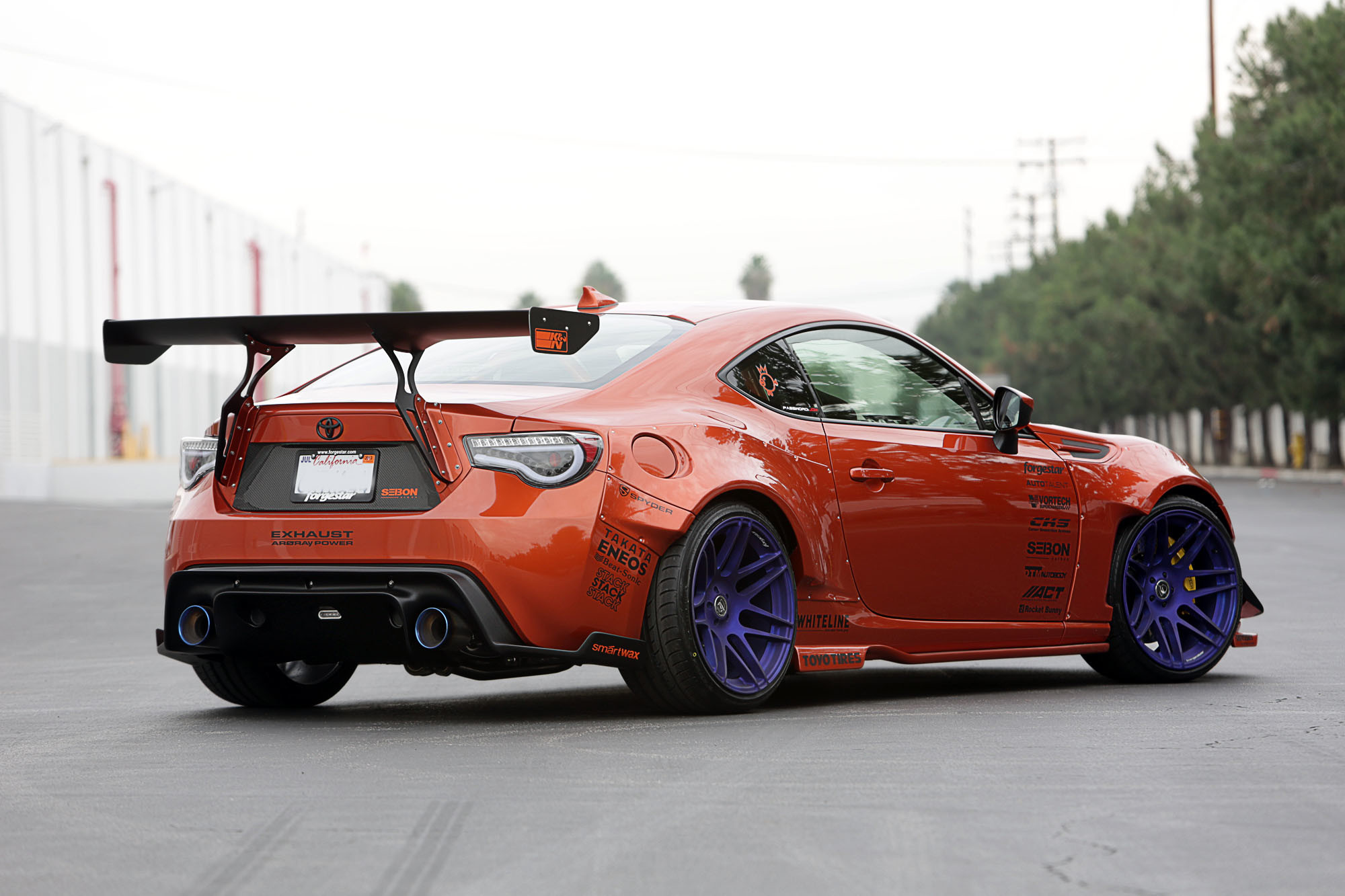 74 Scion Frs Rocket Bunny