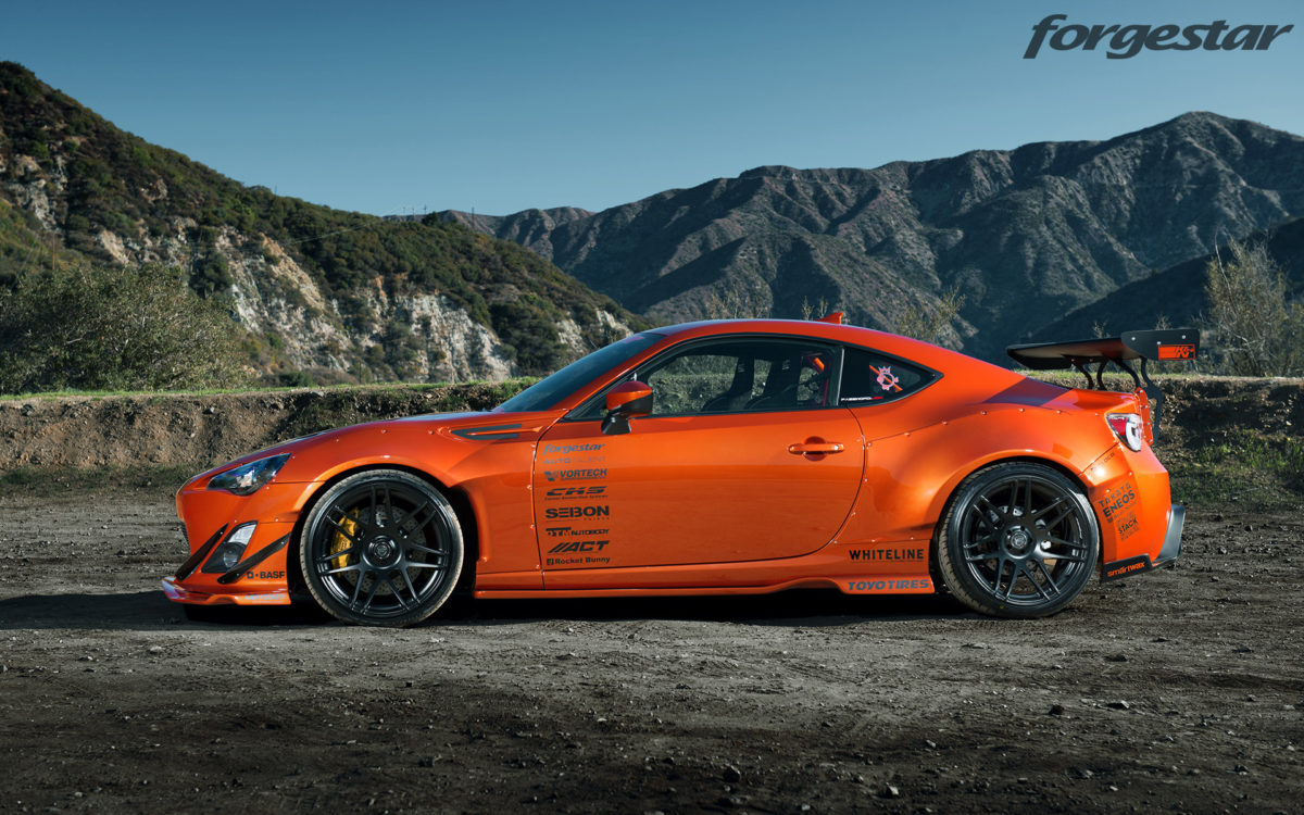 Scion Frs Forum >> Not 1 But 2 Hot Lava Rocket Bunny Widebody Scion Frs Photoshoot With