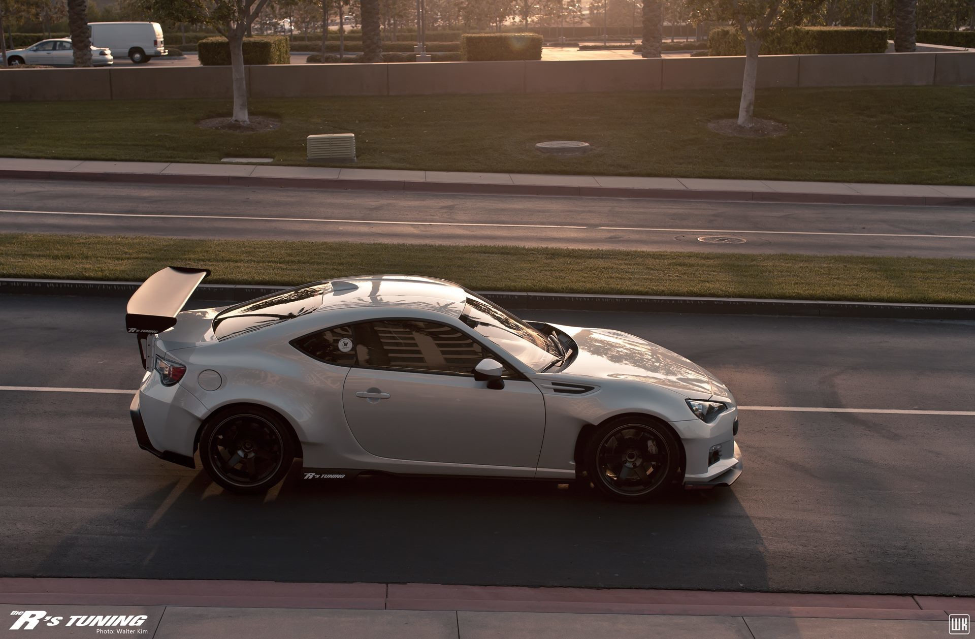 Molded Rocket bunny kit on this BRZ. Looking really good – via The R's  Tuning · Scion FrsBunnyRocketsRally …