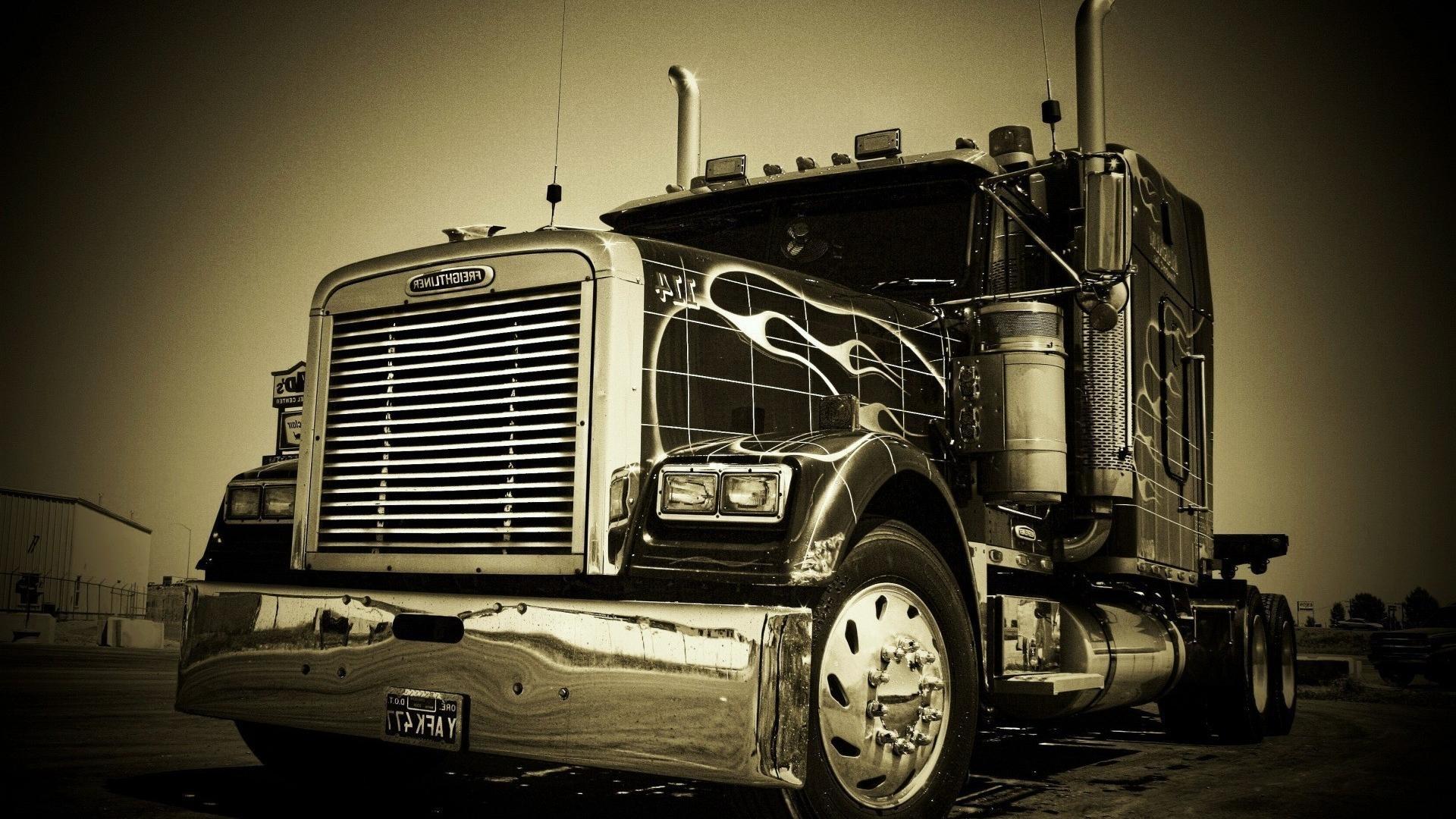 18 wheeler semi trucks wallpaper | (111058)