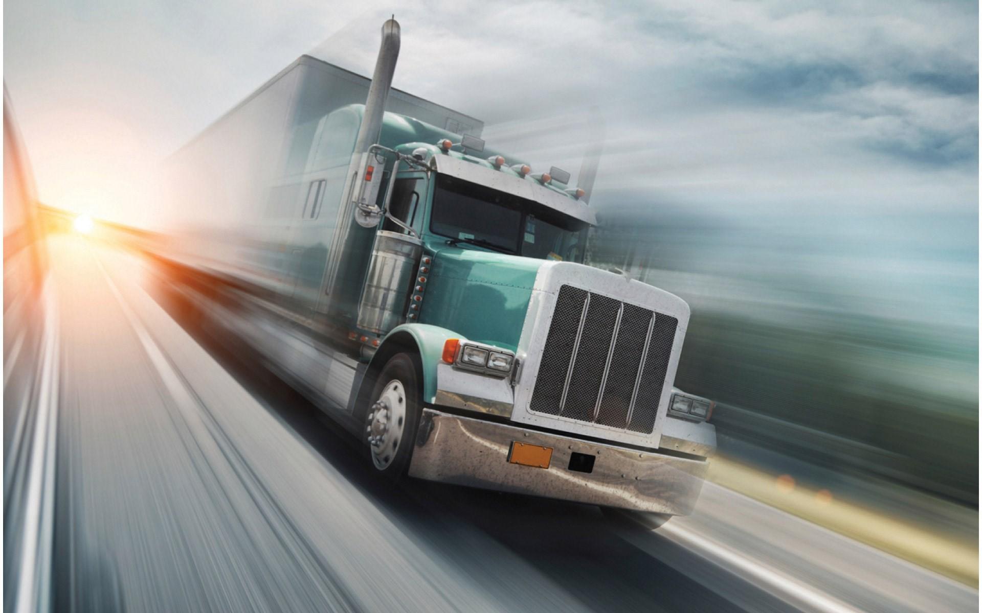 semi truck art wallpaper
