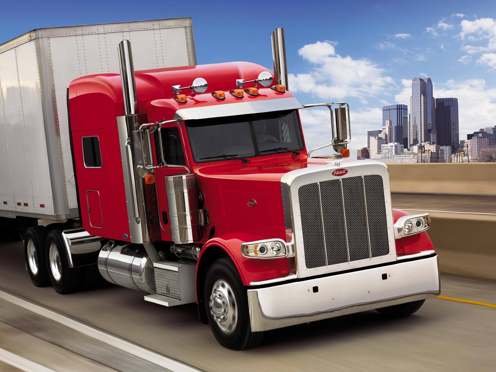 2007 Peterbilt 389 Semi Truck Tractor Wallpaper 2048×1536