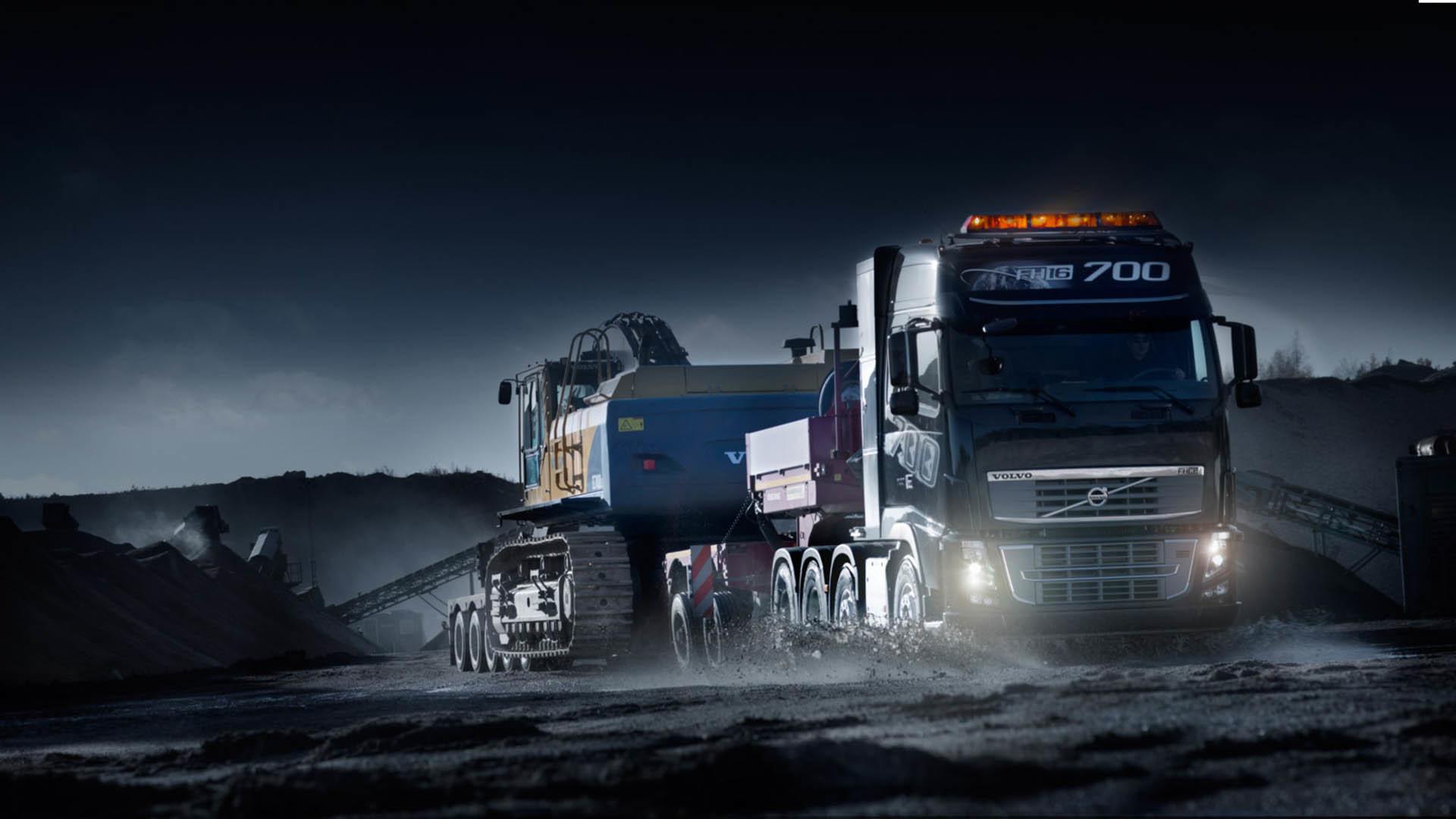Amazing Volvo Truck Wallpaper #9750 Wallpaper | Wallpaper Screen .