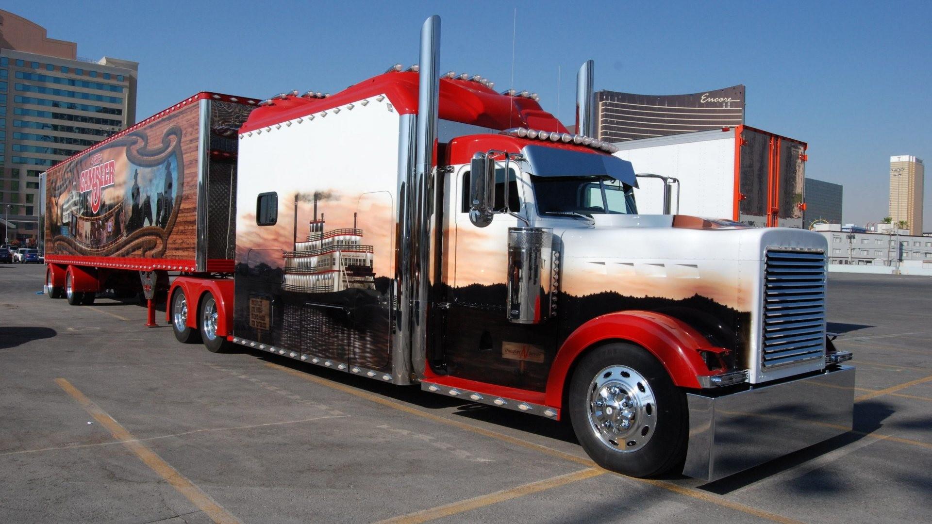 Images For > Cool Semi Trucks Wallpaper