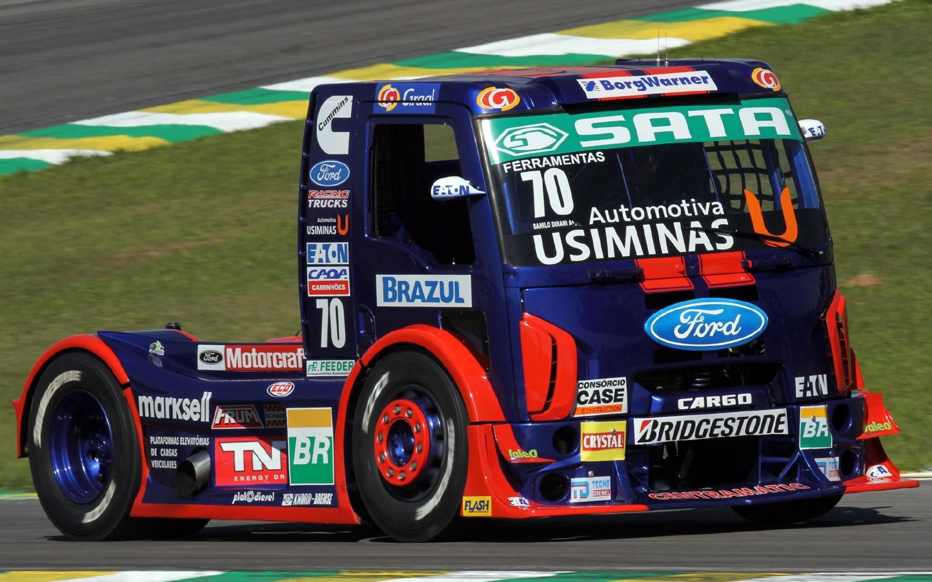 Semi Truck Racing | FORD CARGO FORMULA TRUCK RACE RACING SEMI TRUCTOR. —  Wallpaper .