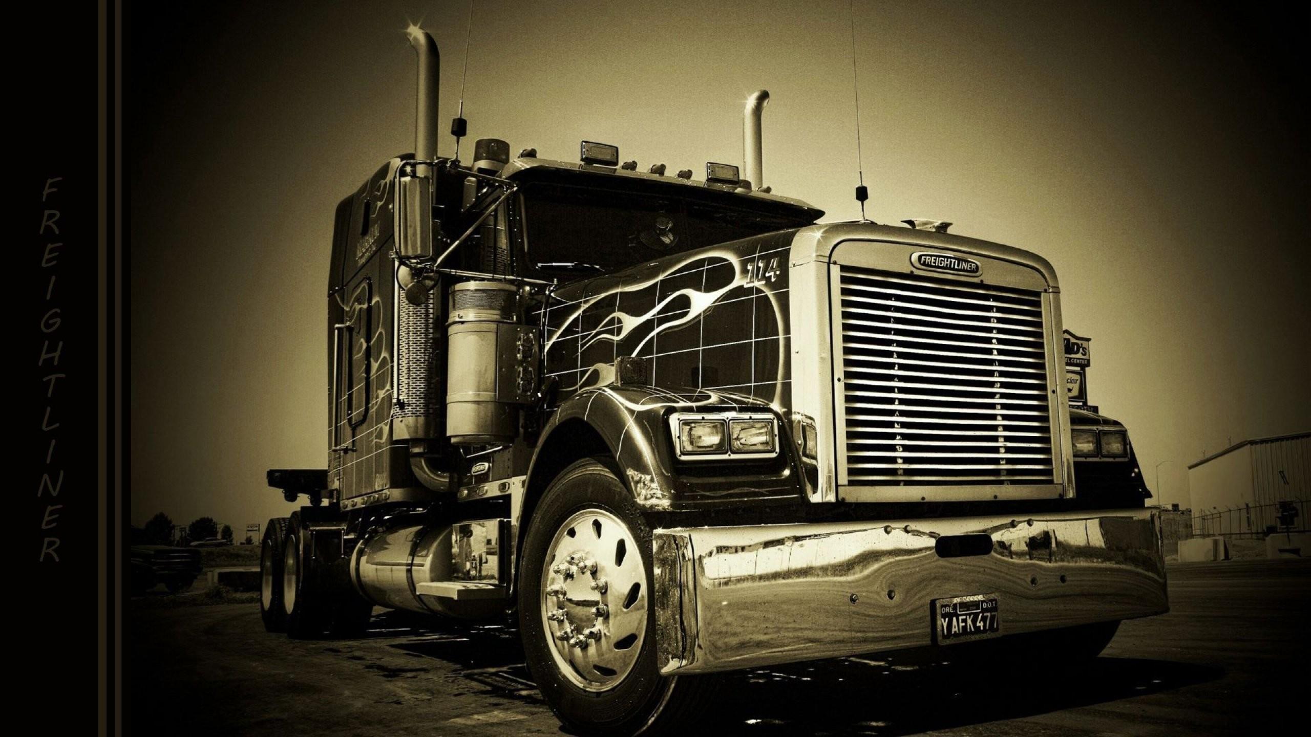 FREIGHTLINER semi tractor transport truck wallpaper | | 795832 |  WallpaperUP