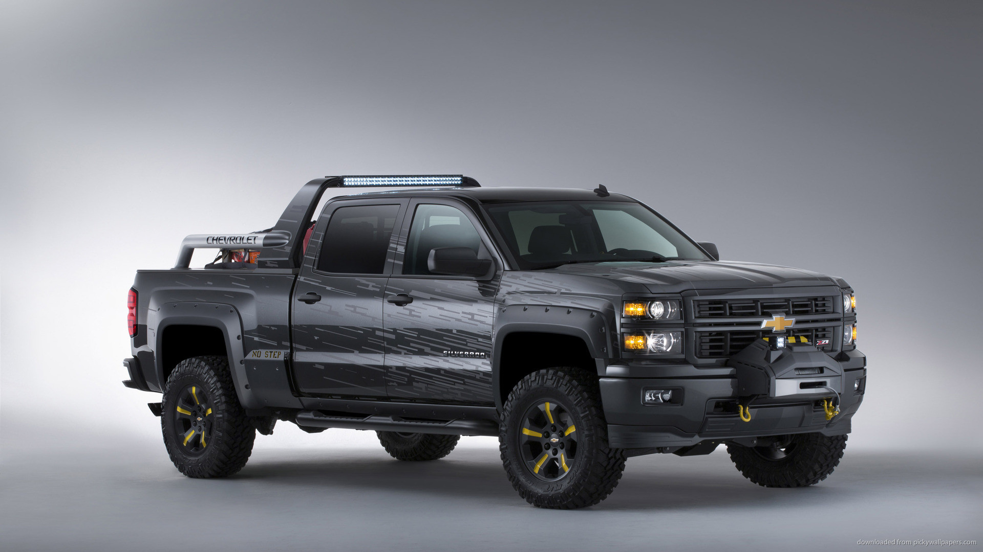 Chevrolet Silverado Black Ops Concept picture