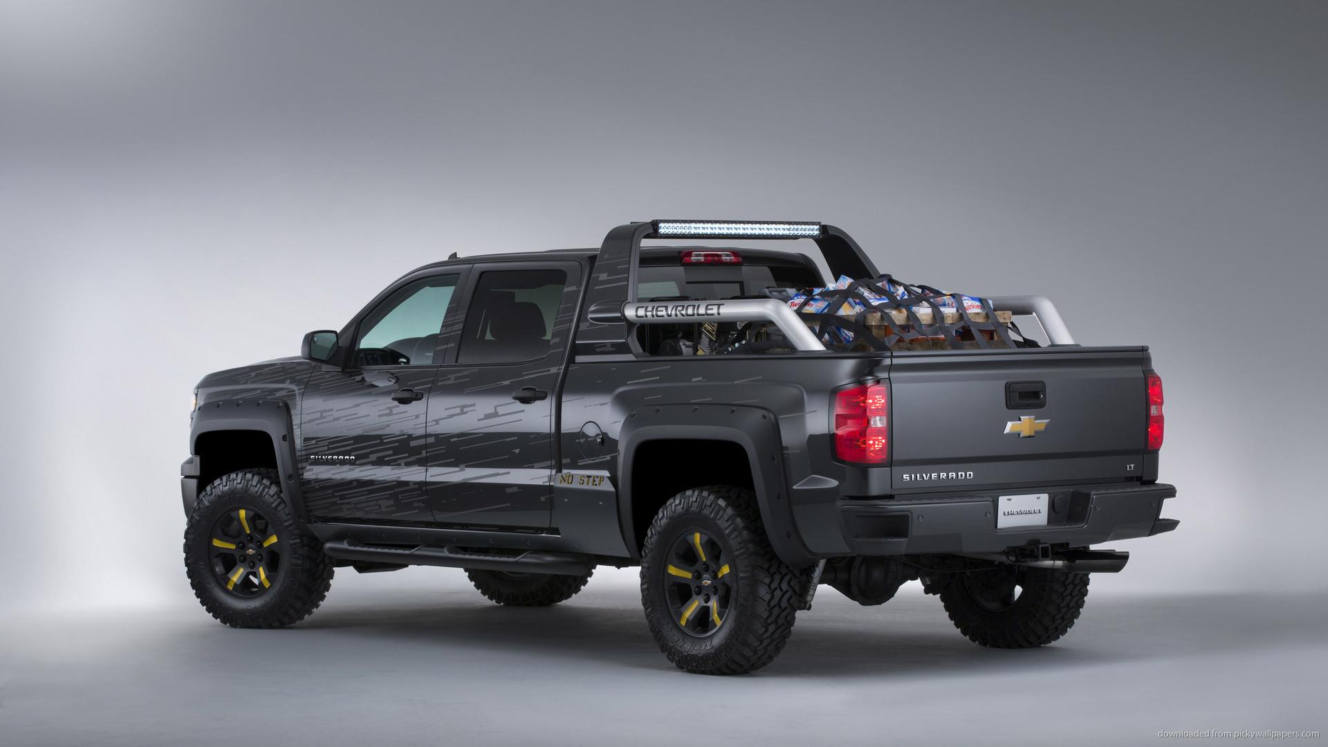 Chevrolet Silverado Black Ops Concept Back picture