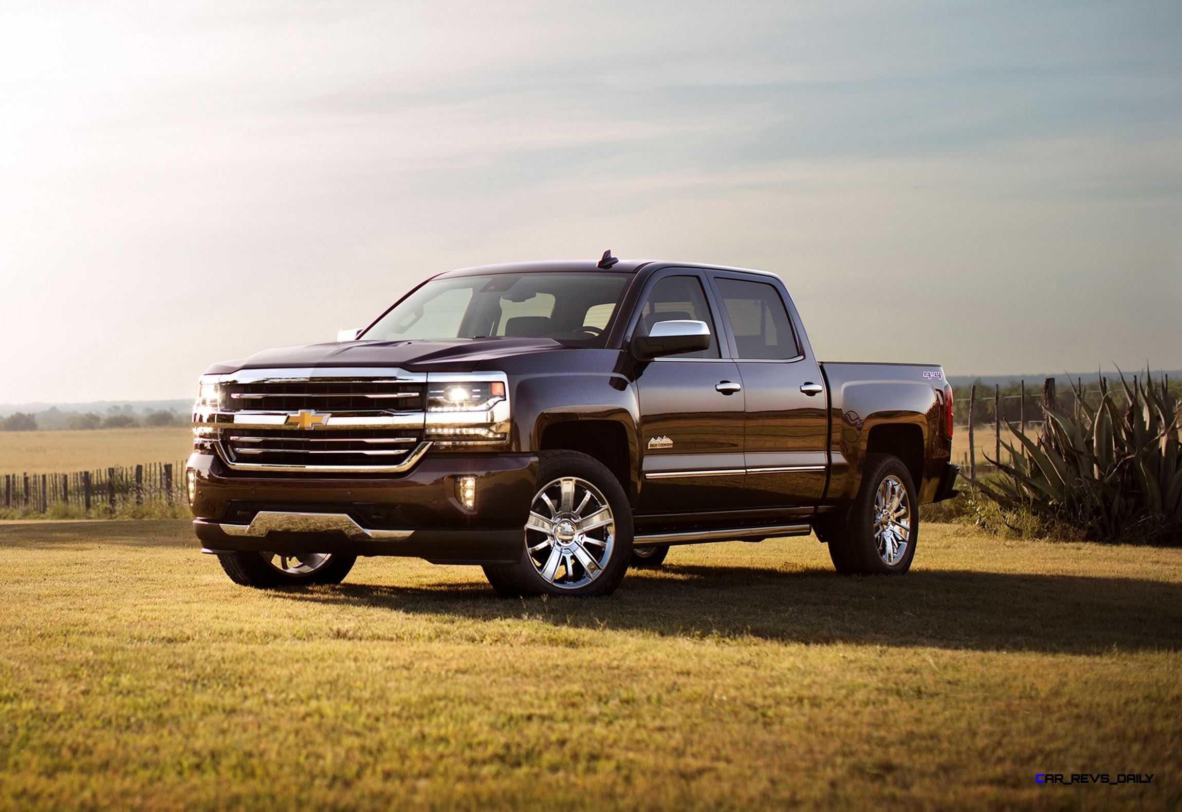 2016 Chevrolet Silverado High Country Wallpaper Background #13280 .