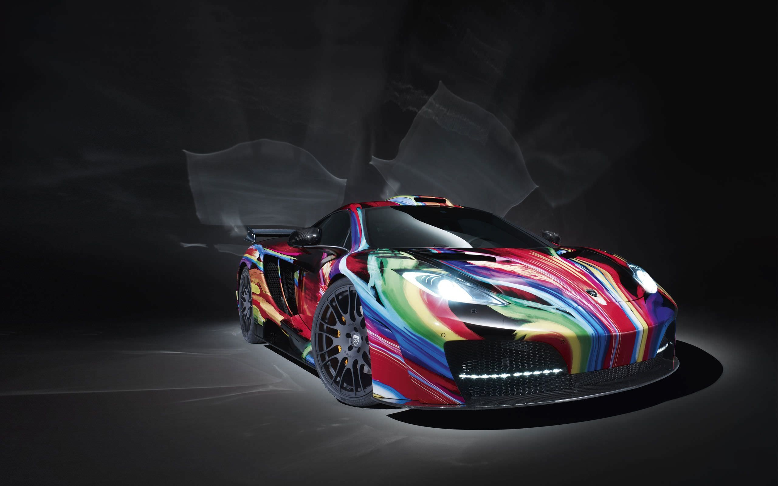 Colorful HD Car Wallpaper for Window 8