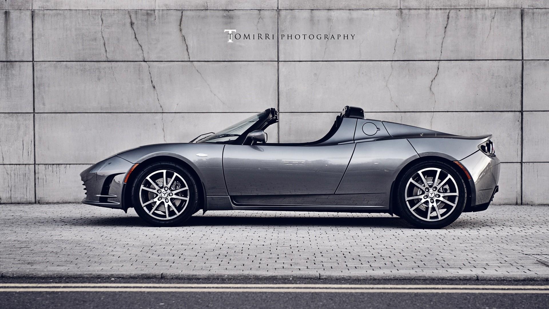 … x 1080 Original. Wallpaper: Tesla Roadster