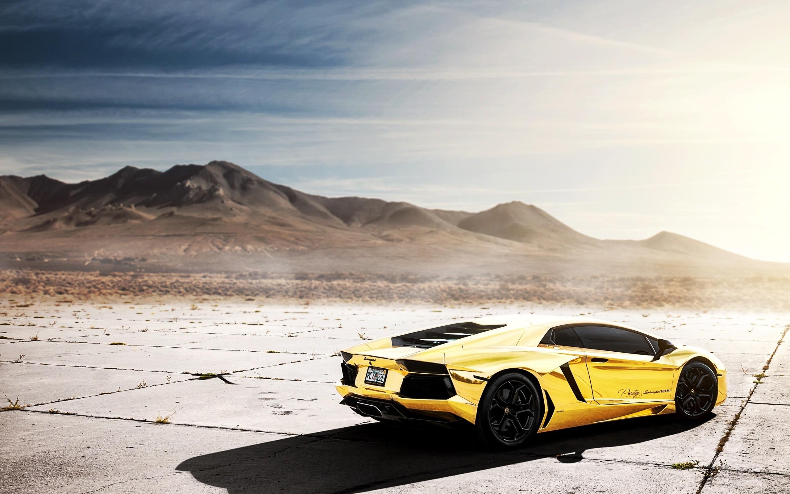 Lp700-4, Lamborghini, Lamborghini, Aventador, Chrome Gold, Project Au79,