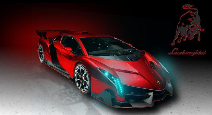 75 Gold Lamborghini