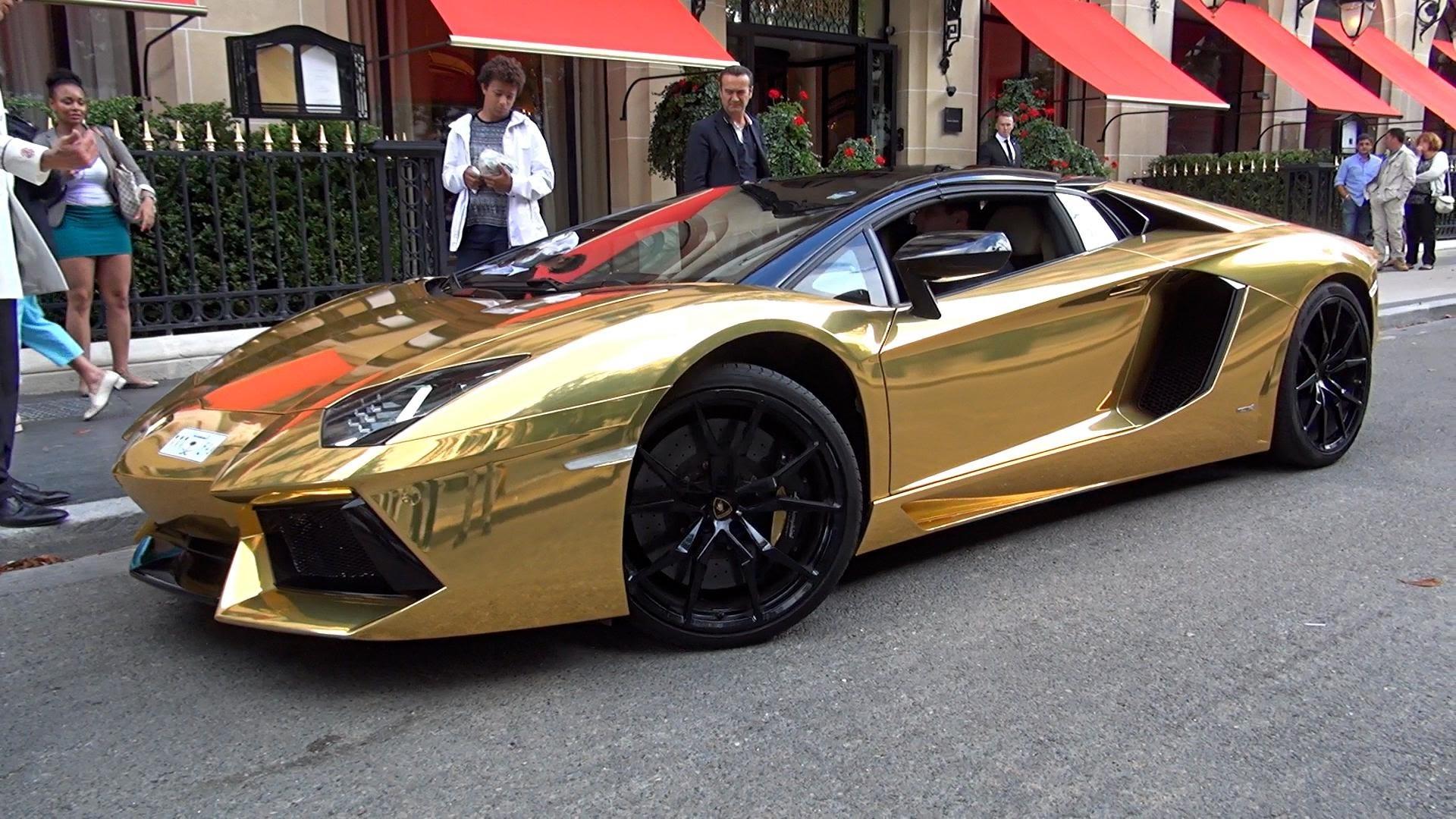 Lamborghini Gallardo 2015 Gold