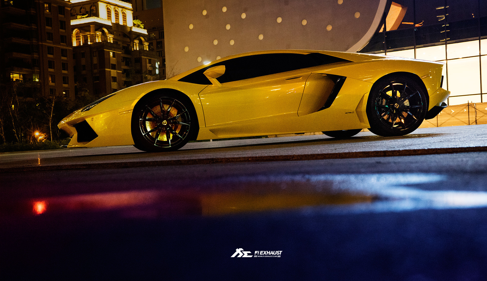 … Lamborghini LP700 yellow Wallpaper …