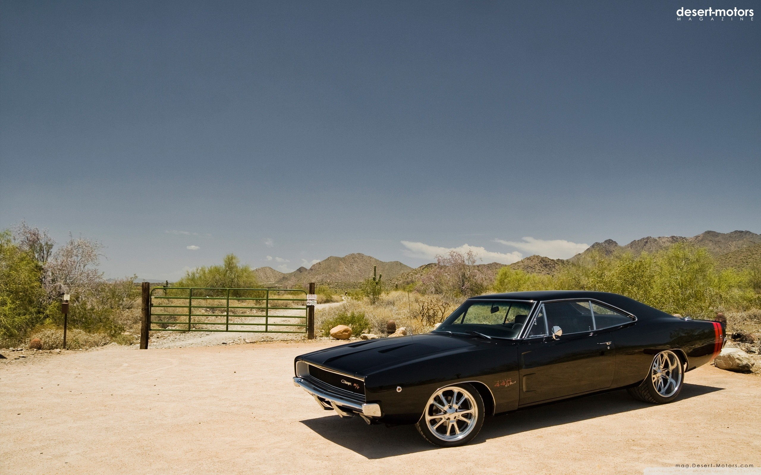 1968 Dodge Charger HD Wide Wallpaper for Widescreen