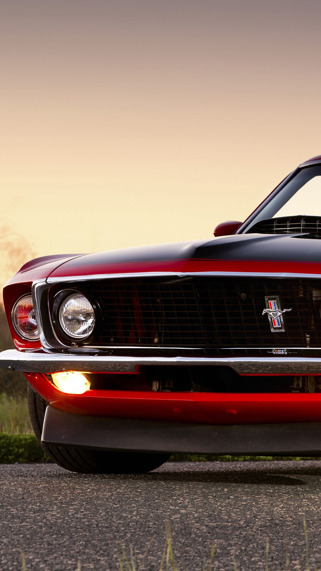 Red Ford Mustang Boss 302 iPhone 6 Plus HD Wallpaper …