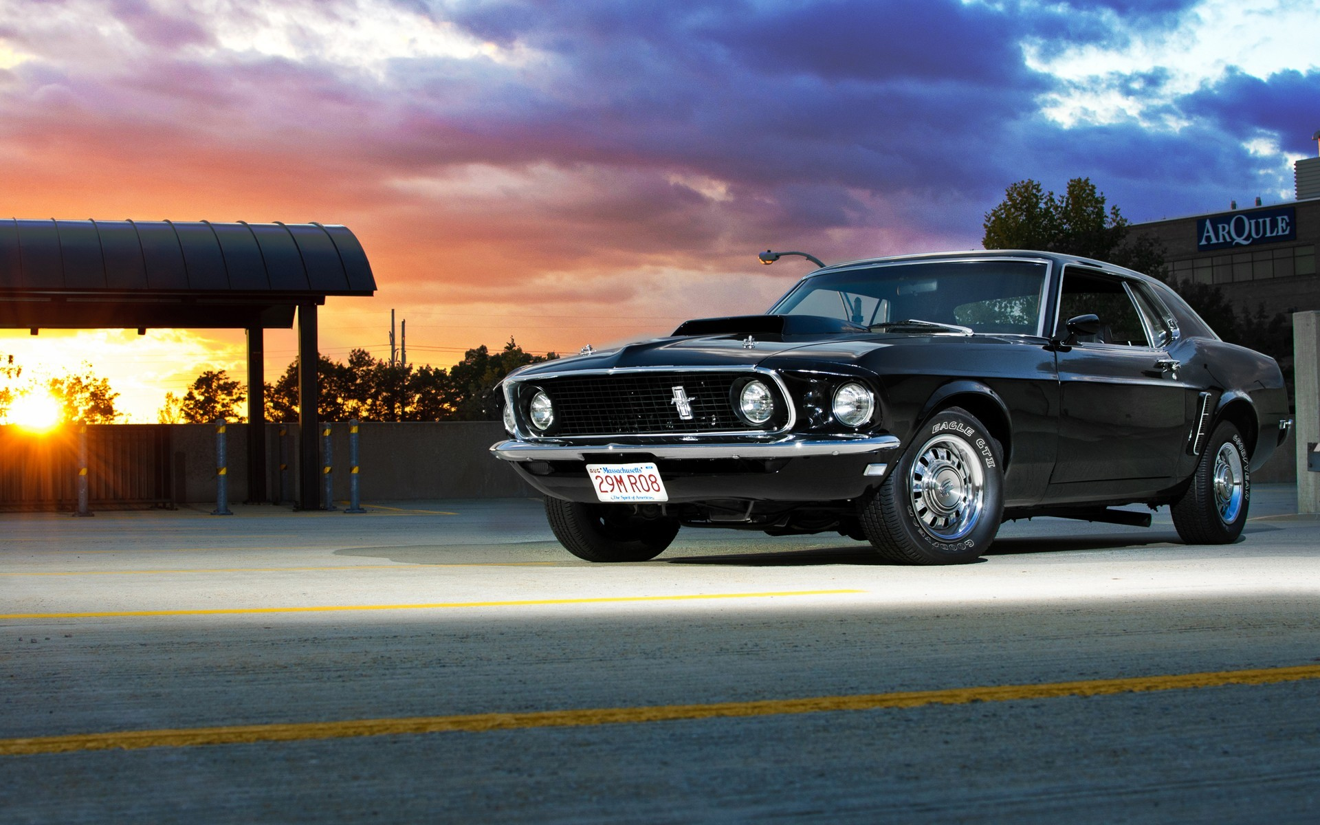 Cars muscle cars 1969 vehicles ford mustang wallpaper | | 12340 |  WallpaperUP
