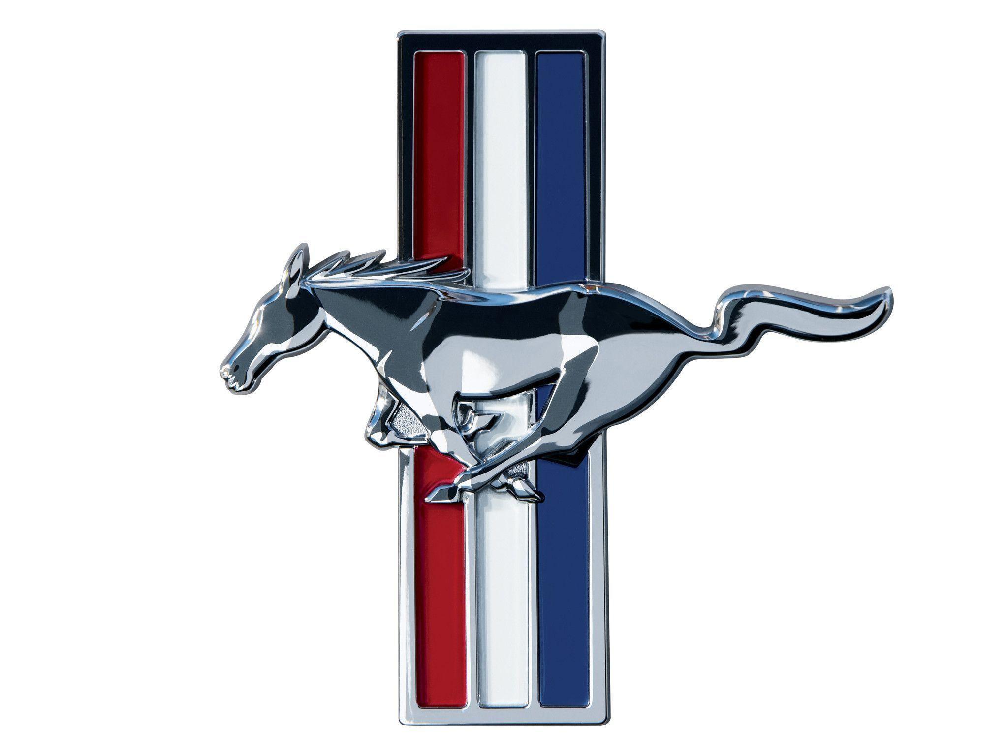 Mustang Logo Wallpaper | Wallpaper | Basic Background