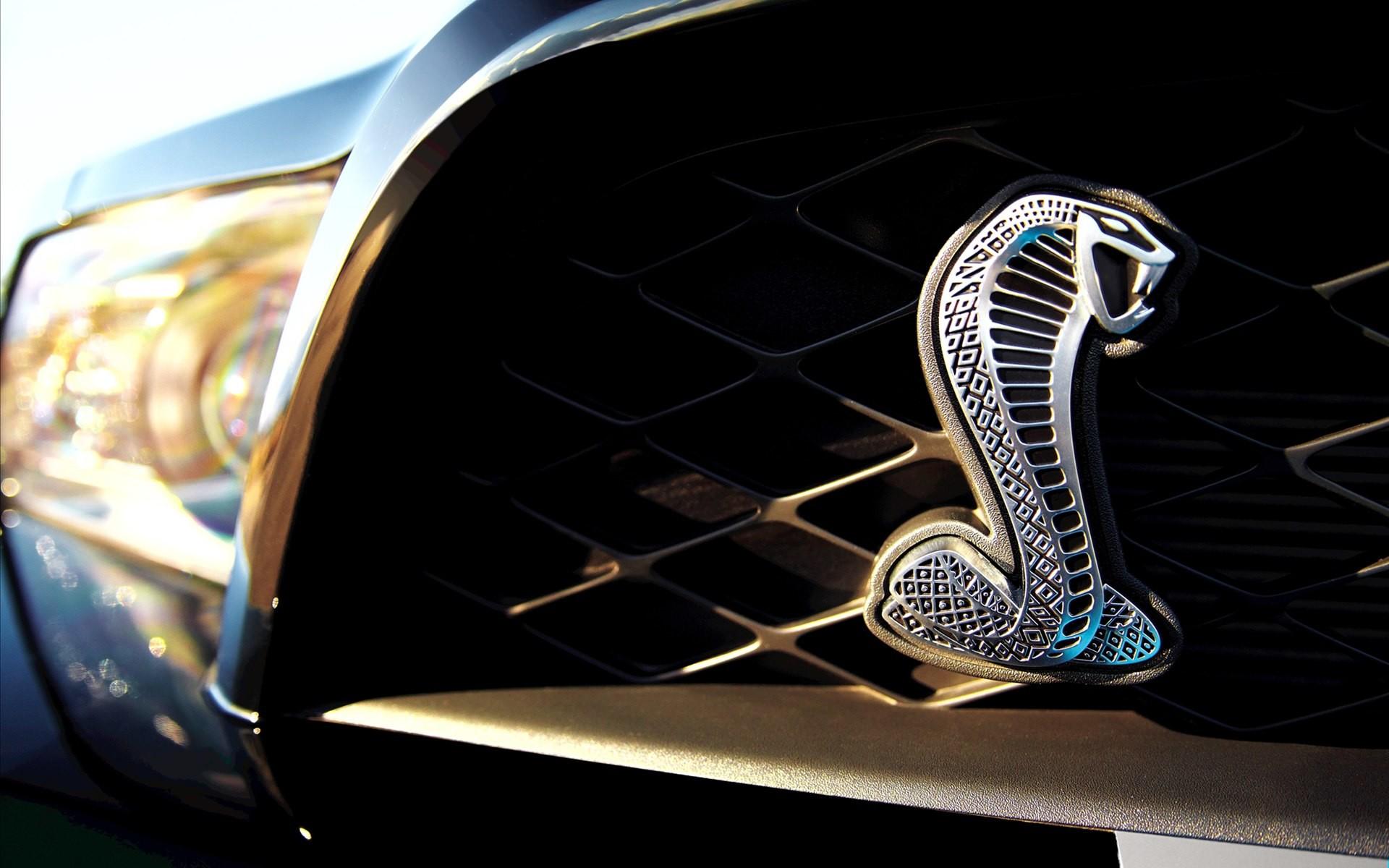 Mustang cobra emblem wallpaper – photo#11