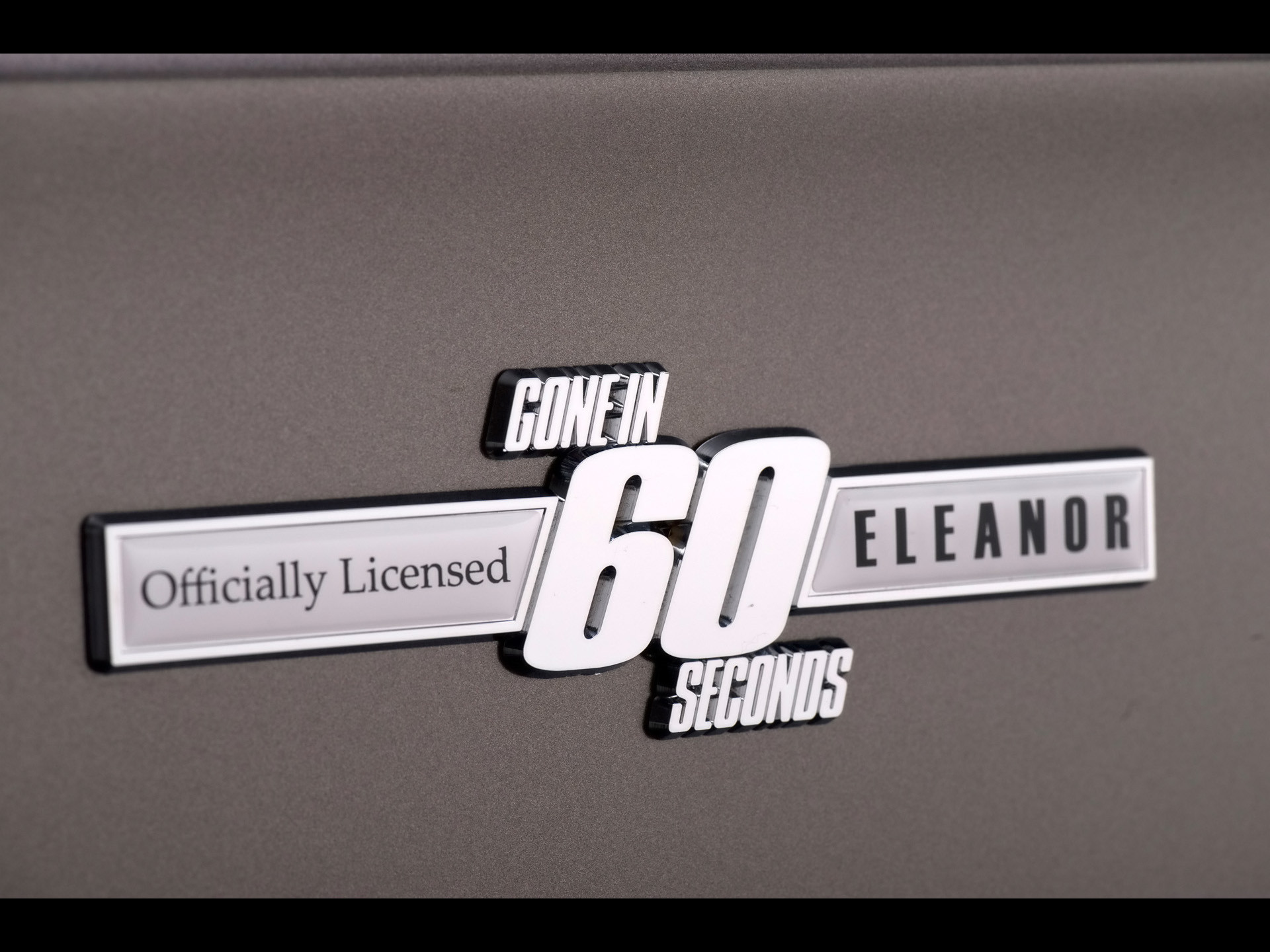 1967 Mustang Fastback Gone in 60 Seconds Eleanor – Emblem – –  Wallpaper