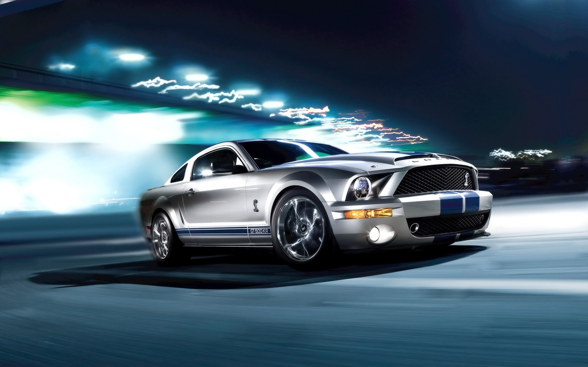 75 Ford Mustang Shelby GT500 HD Wallpapers | Backgrounds – Wallpaper Abyss