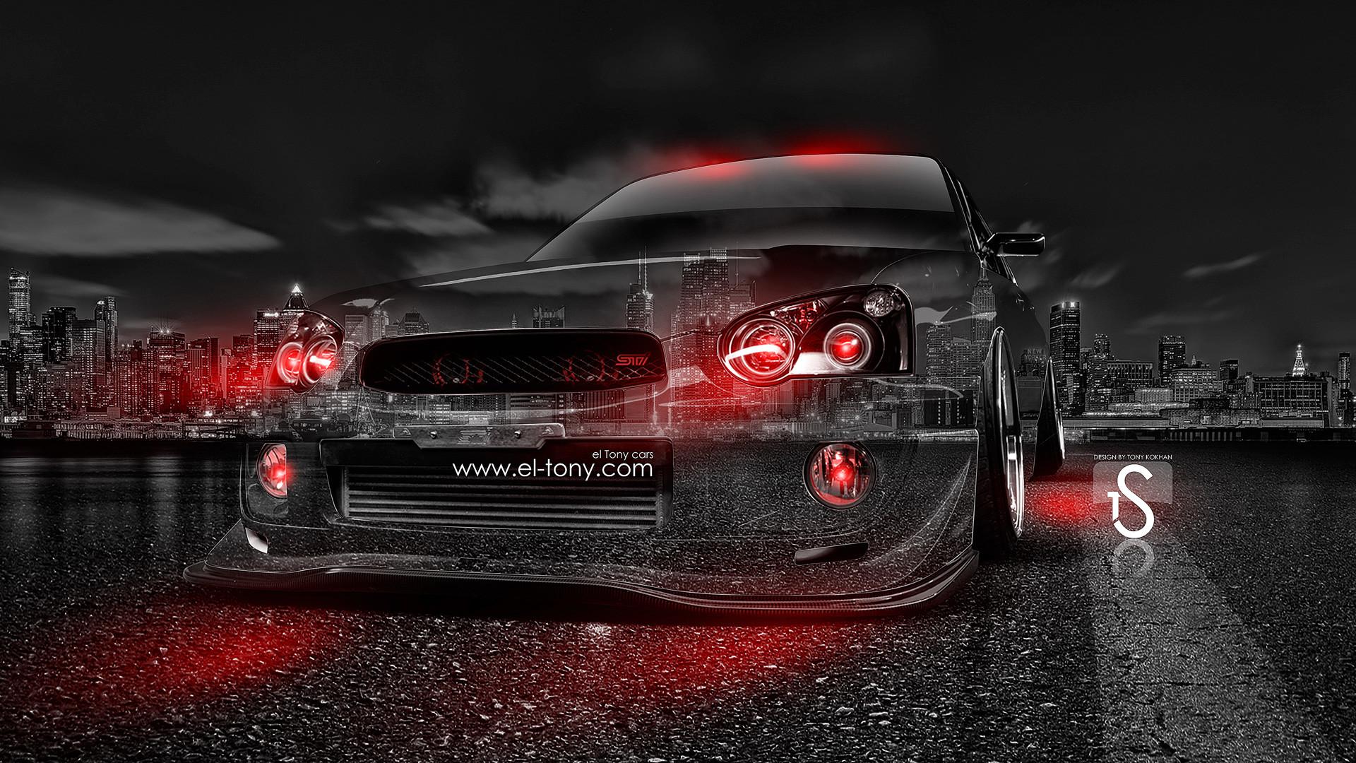 Subaru WRX STI JDM Crystal City Car 2014 | el Tony