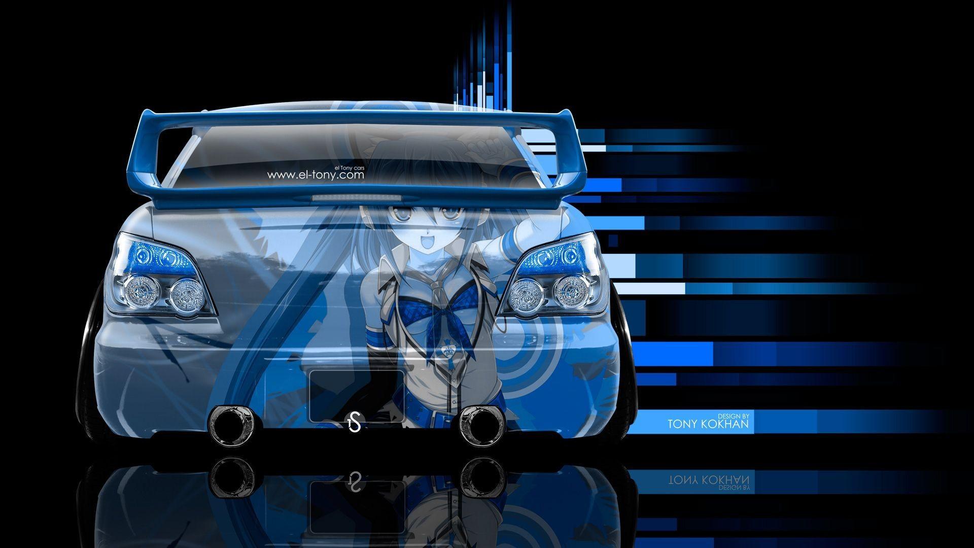 Subaru Impreza WRX STI JDM Back Anime Aerography Car 2014 Â« el Tony