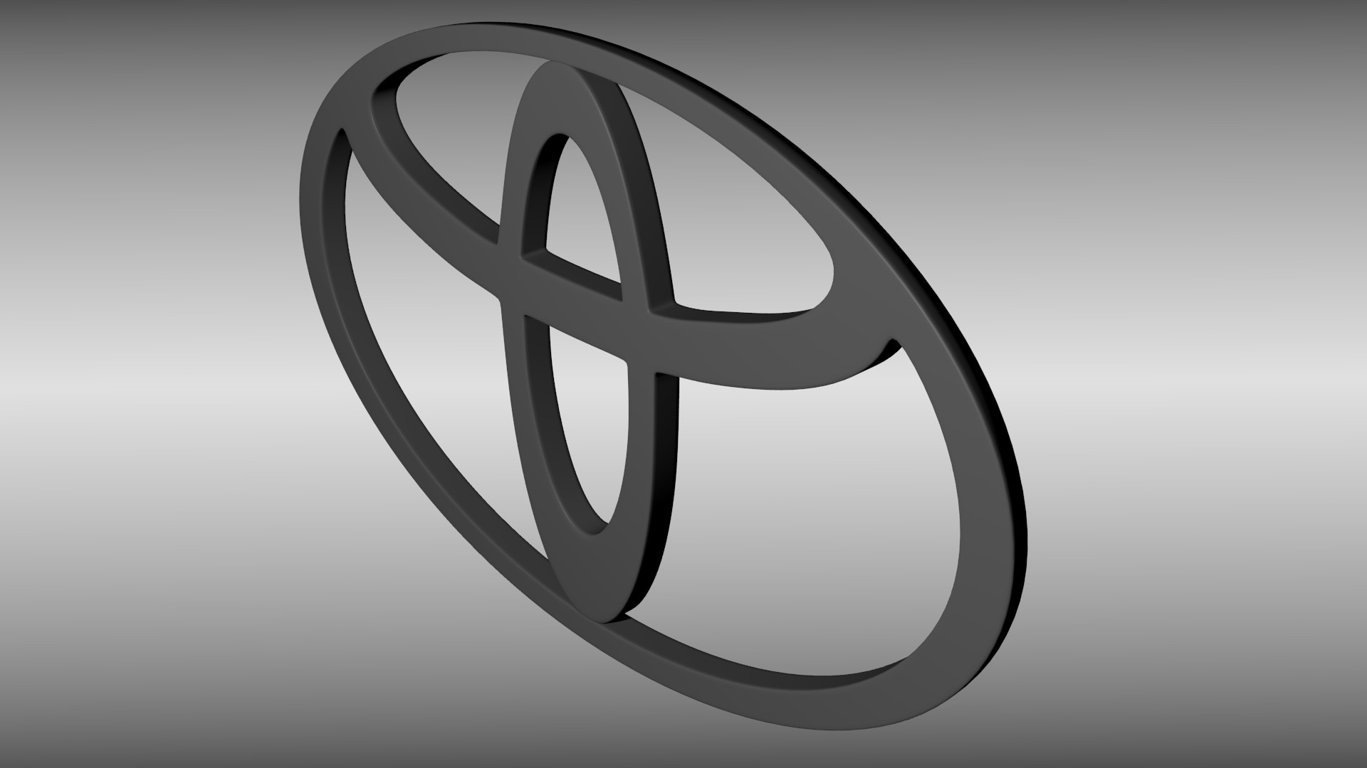 … toyota logo 3d model obj blend mtl 3 …