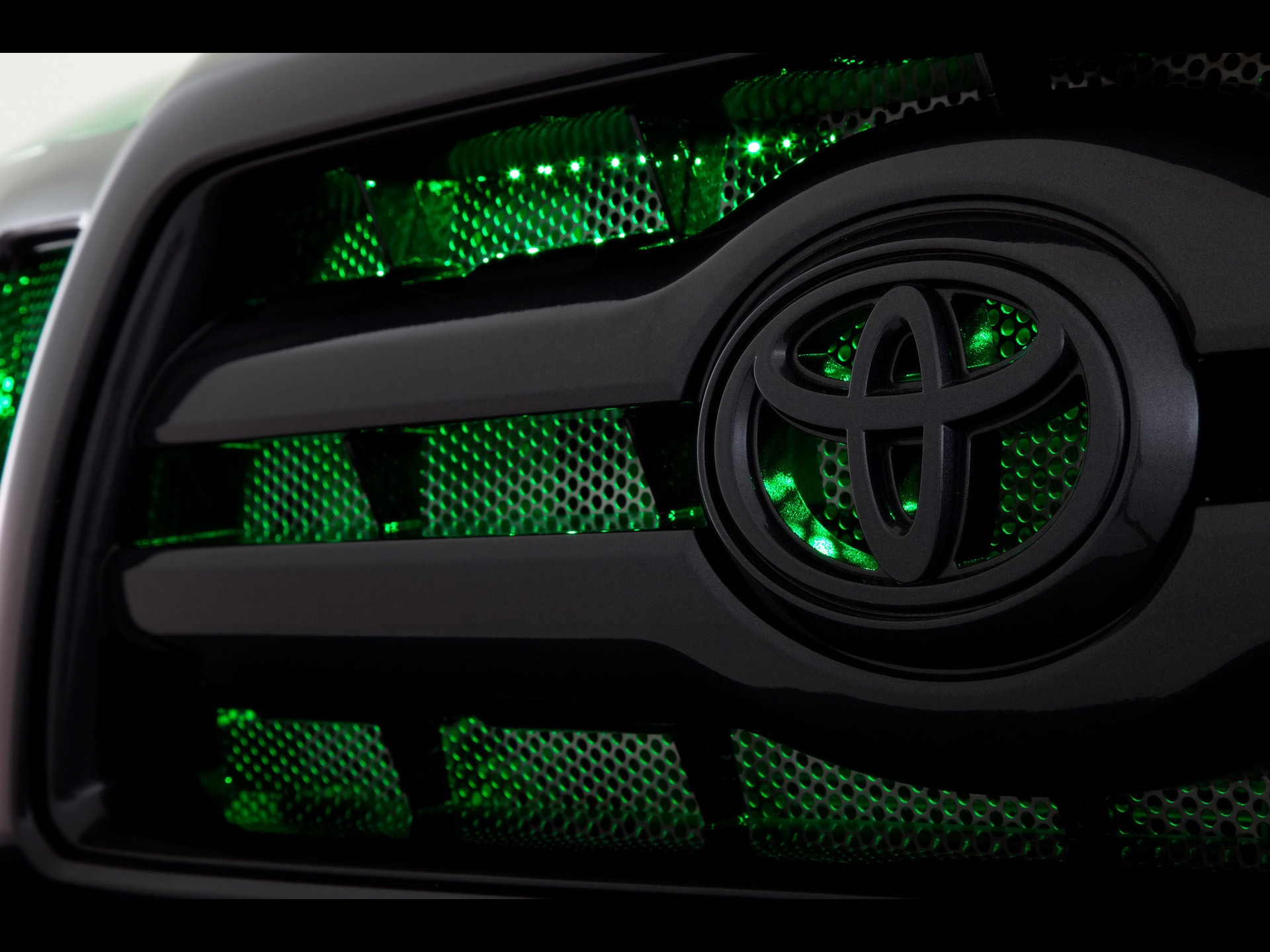 2009 Toyota Tacoma Atg Grille Wallpaper
