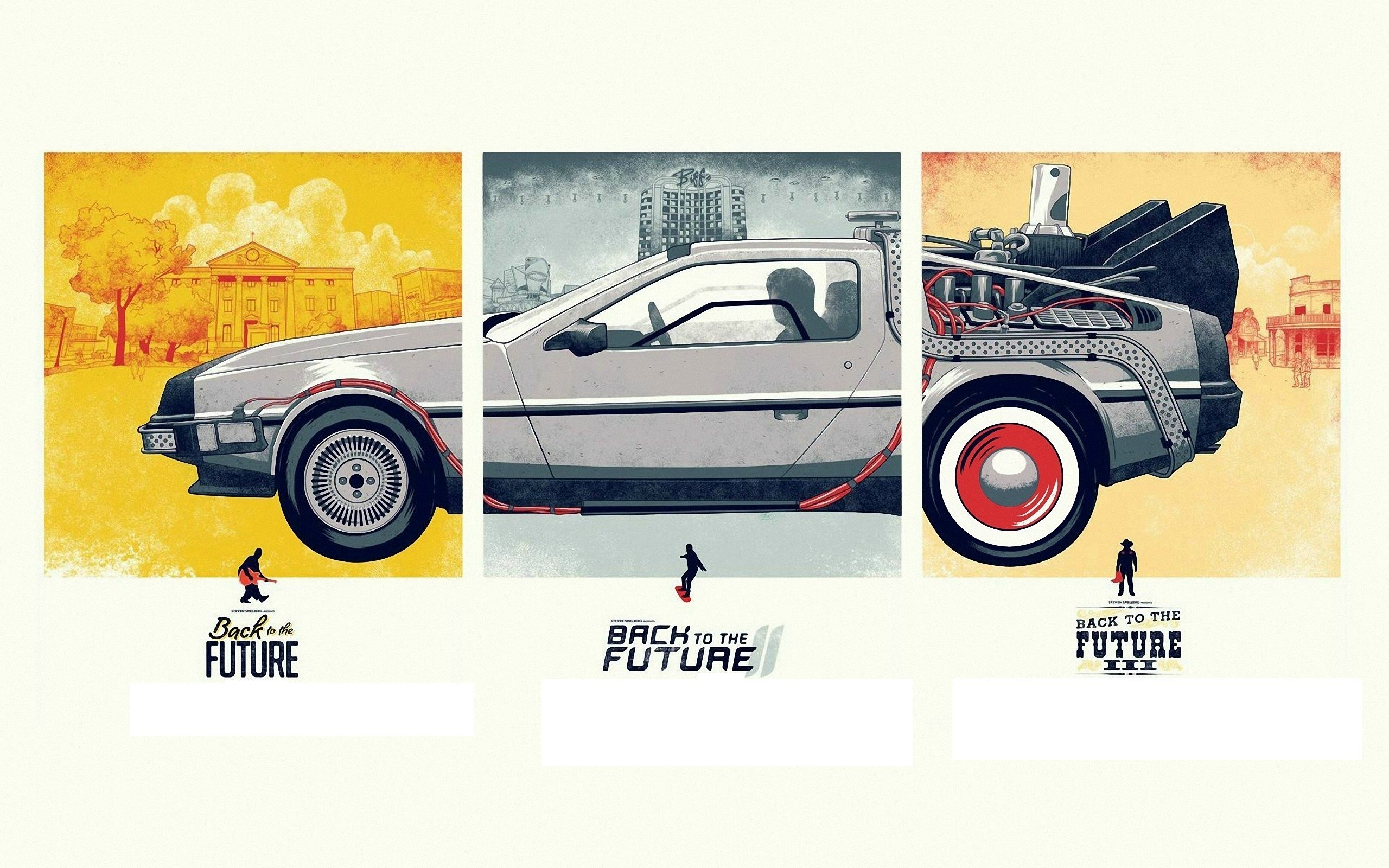 … to the Future posters HD Wallpaper 2560×1600