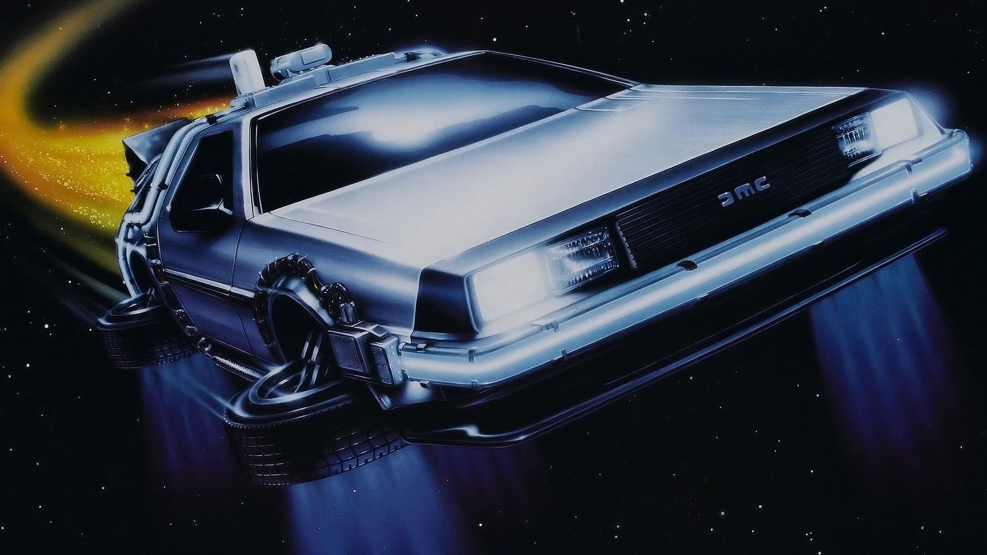 Delorean – Back To The Future HD Unbelievable Wallpaper Free HD .