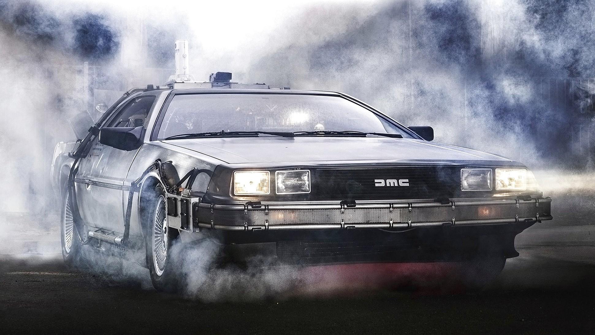 1985 Delorean Dmc 12 Back to the Future V5 Hd Car Wallpaper