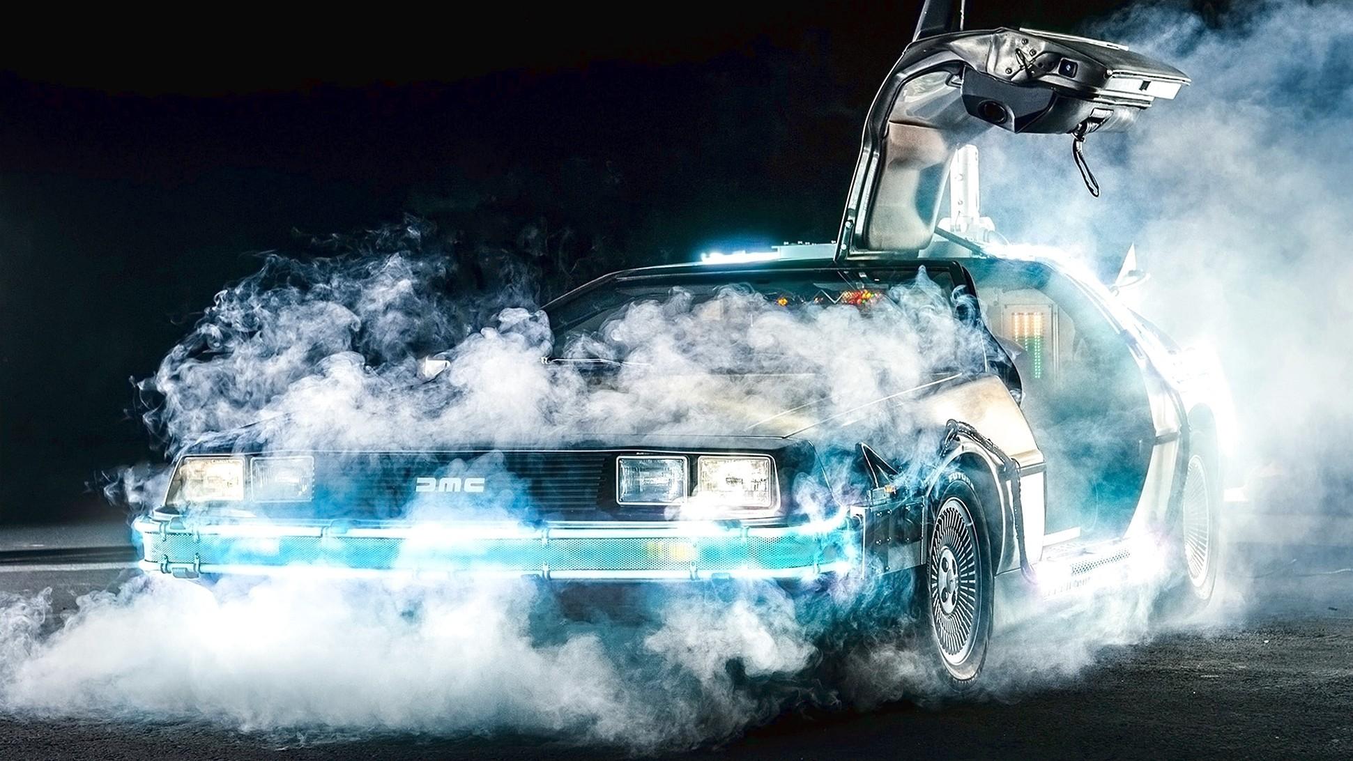 1985 Delorean Dmc 12 Back to the Future V6 Hd Car Wallpaper