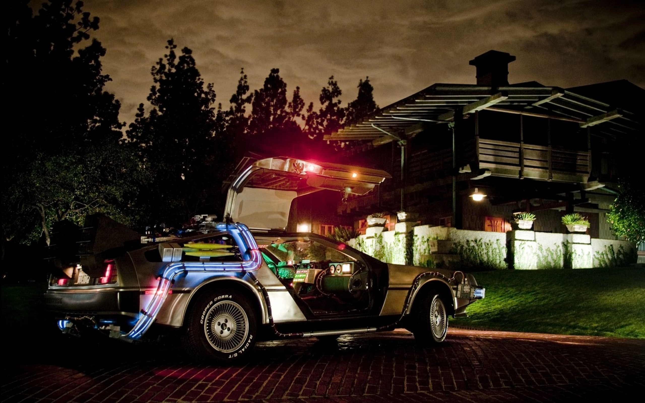 DeLorean, Car, Back To The Future Wallpapers HD / Desktop and Mobile  Backgrounds