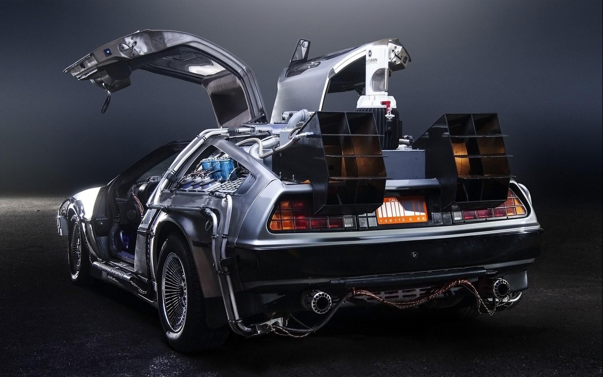 delorean dmc-12 back to the future time machine delorean back to the future  time