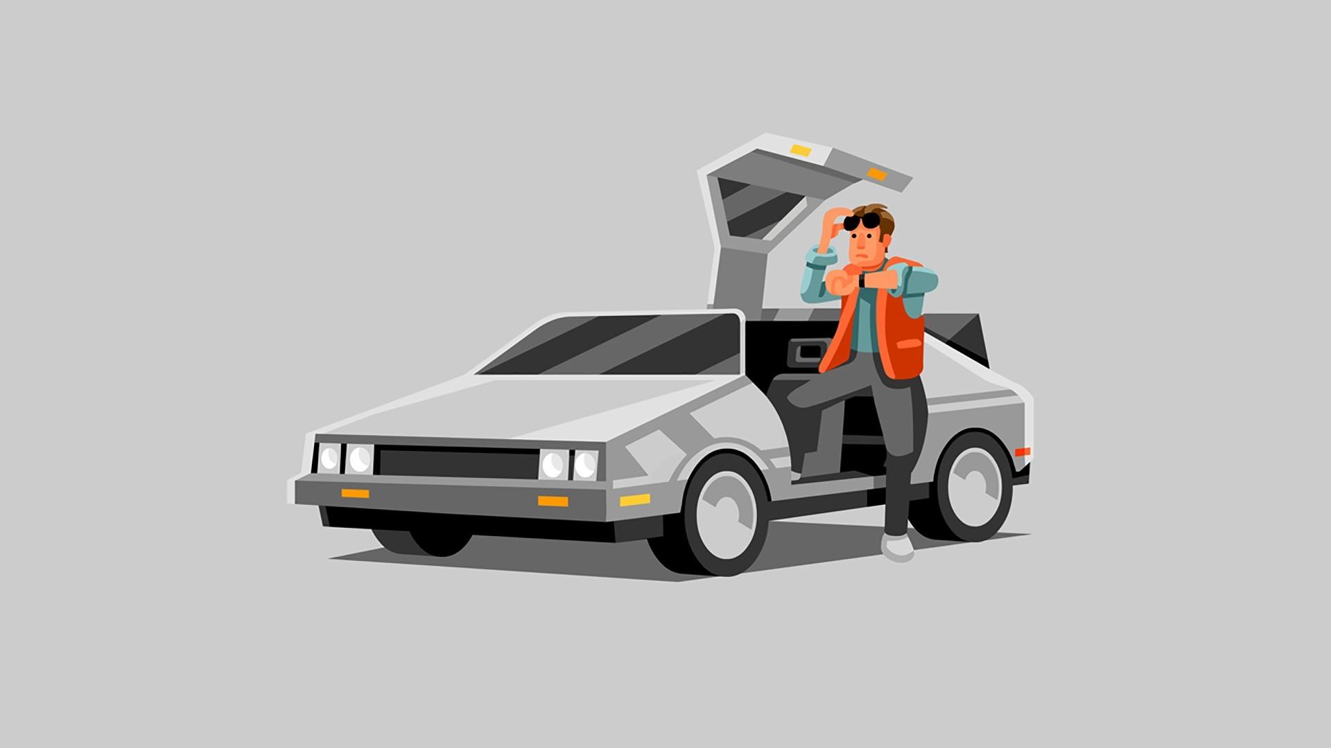 General DeLorean Back to the Future