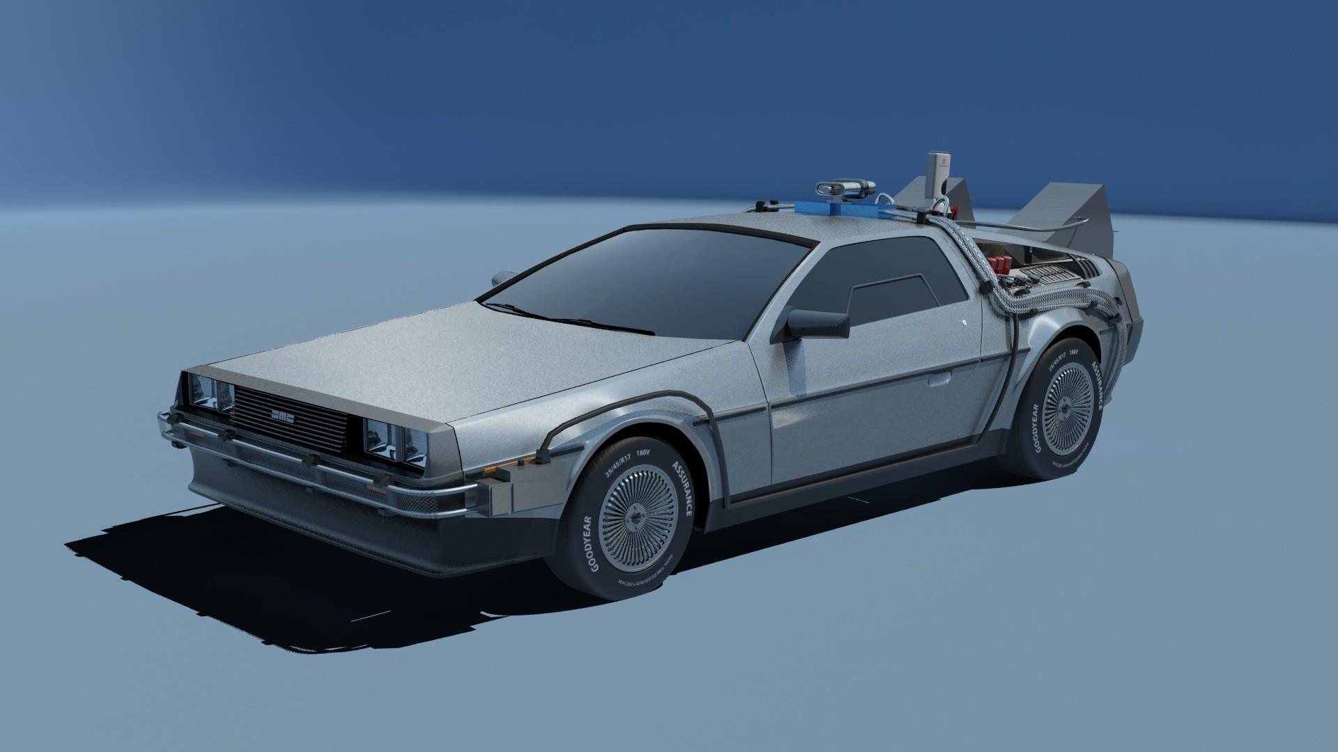#Delorean Back To The Future Blueprints