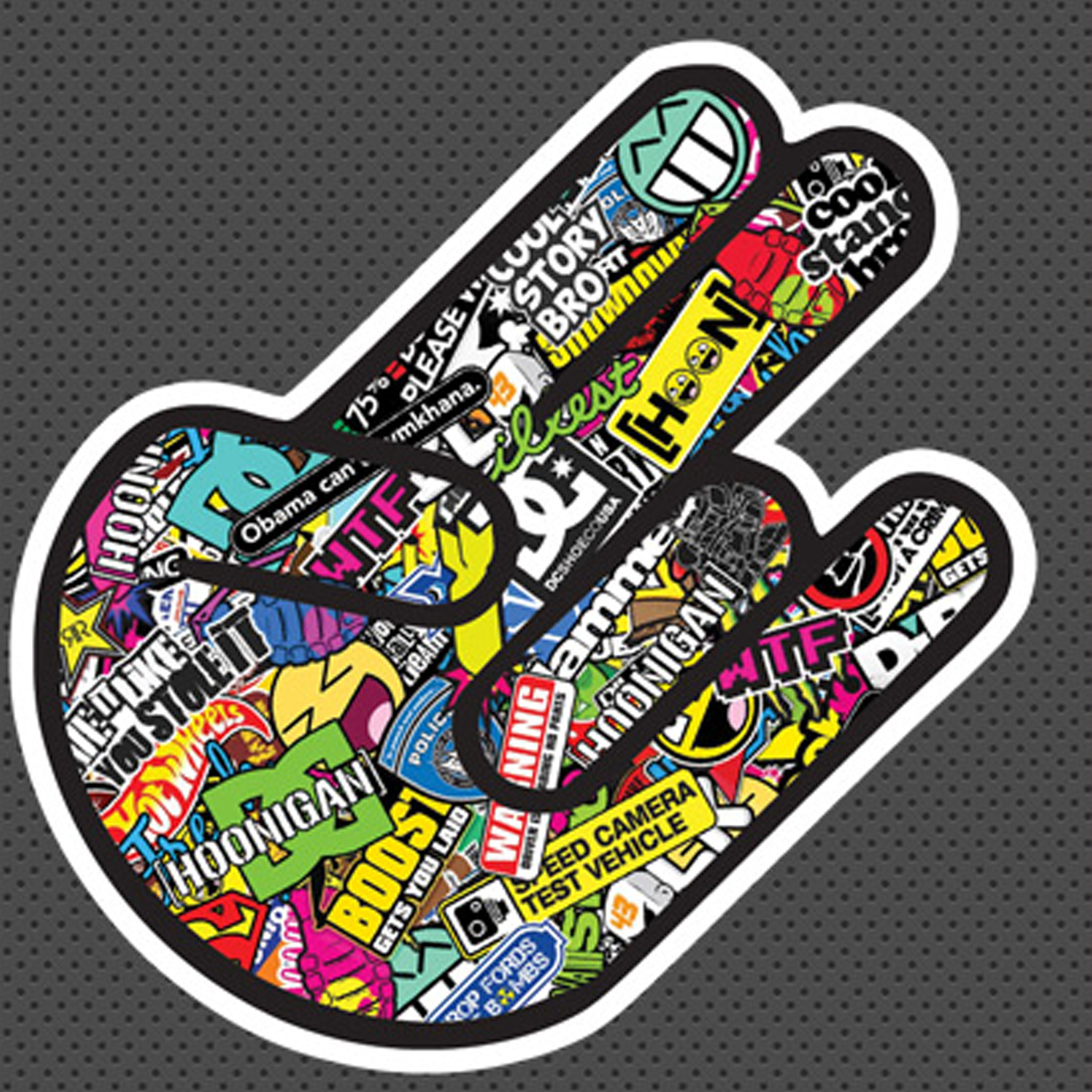 JDM The Shocker Sticker -FREE SHIPPING-