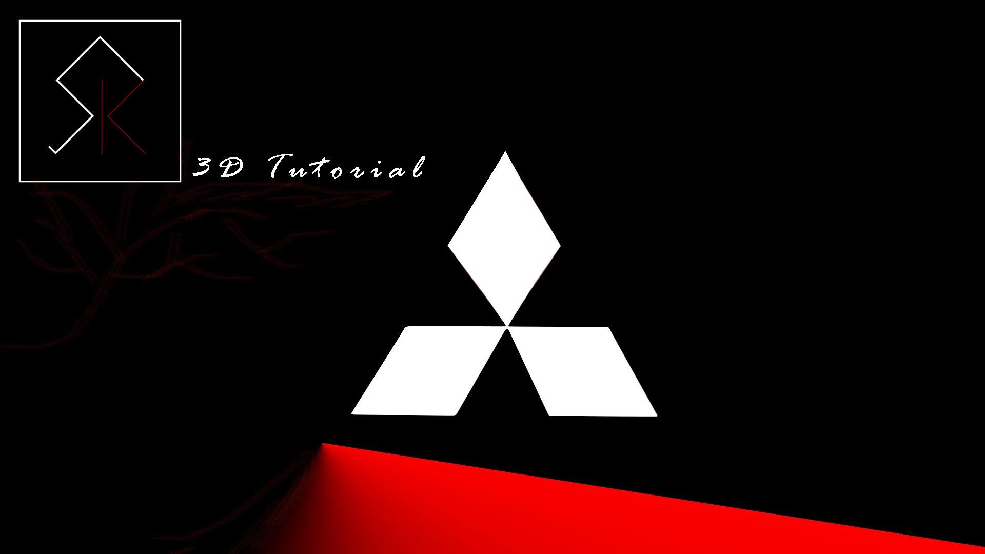 3D Maya Tutorial: Mitsubishi Motors Emblem