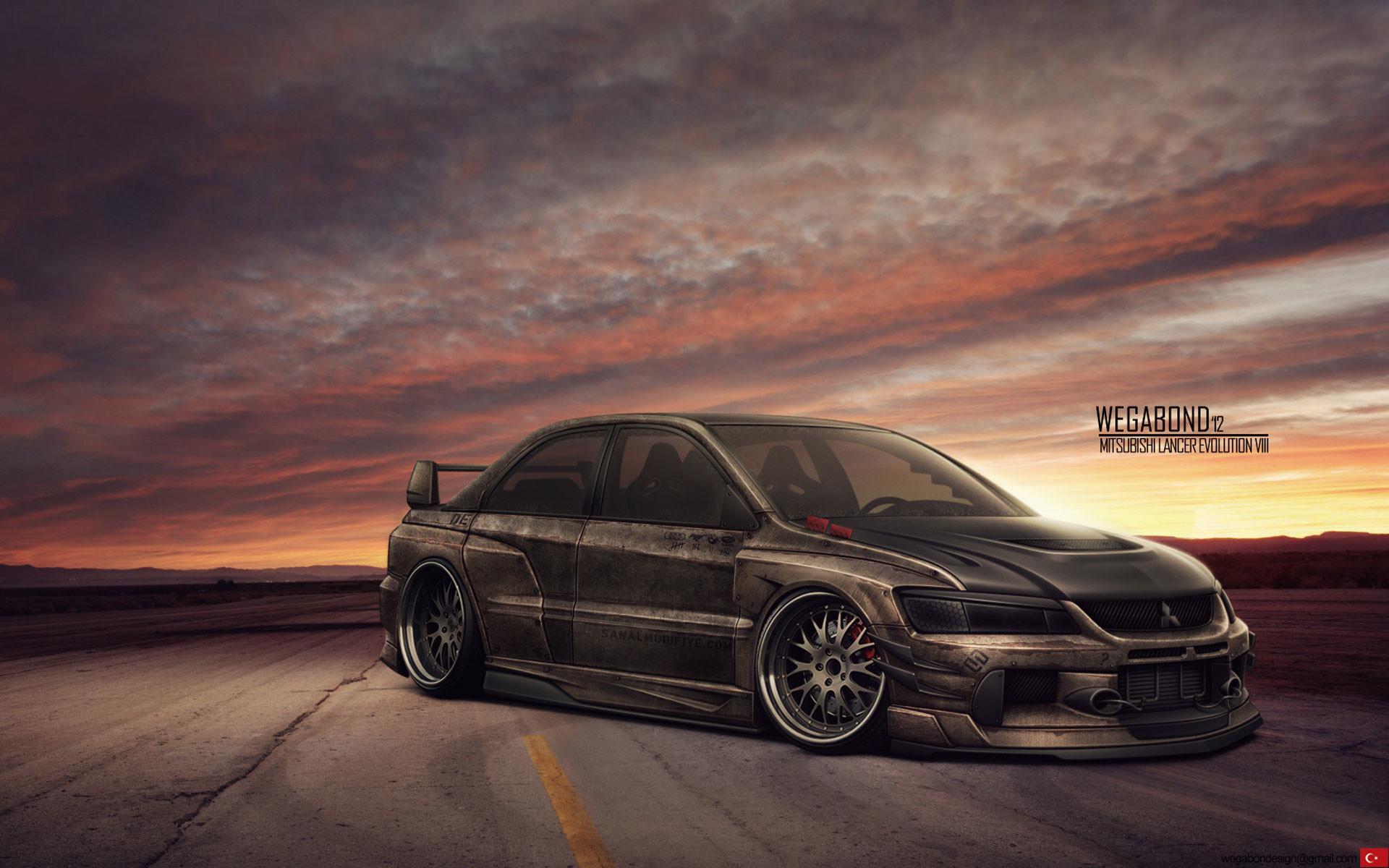 Free Wallpapers – Mitsubishi Lancer Evolution wallpaper