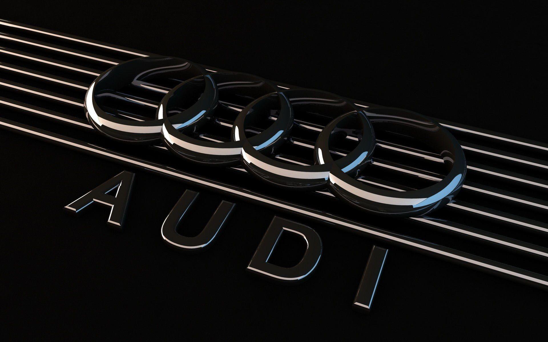 Audi Rings Black Background Telpn – FewMo.com – Cool Car Wallpaper