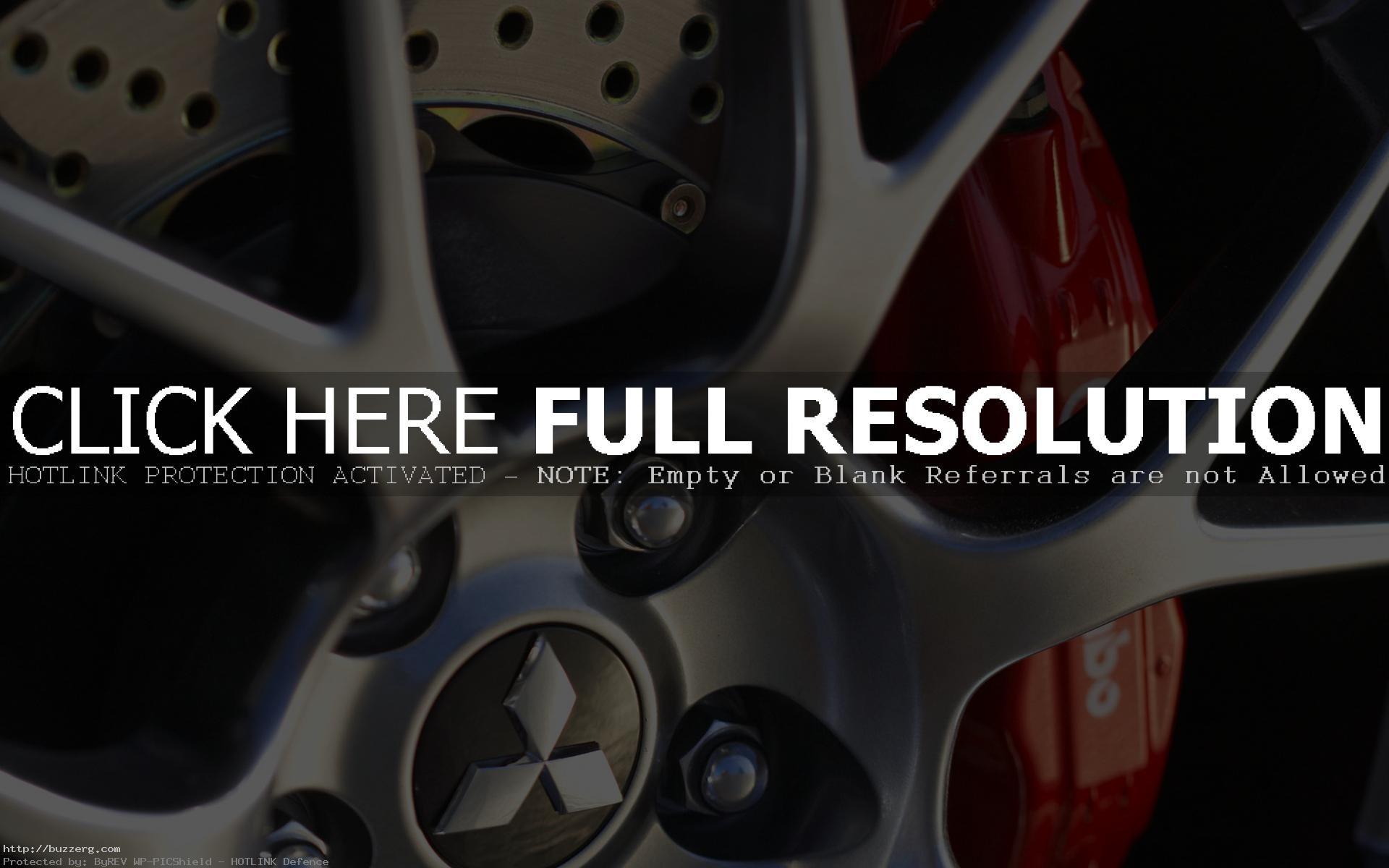 Wheel Mitsubishi Racing Lancer (id: 167188)