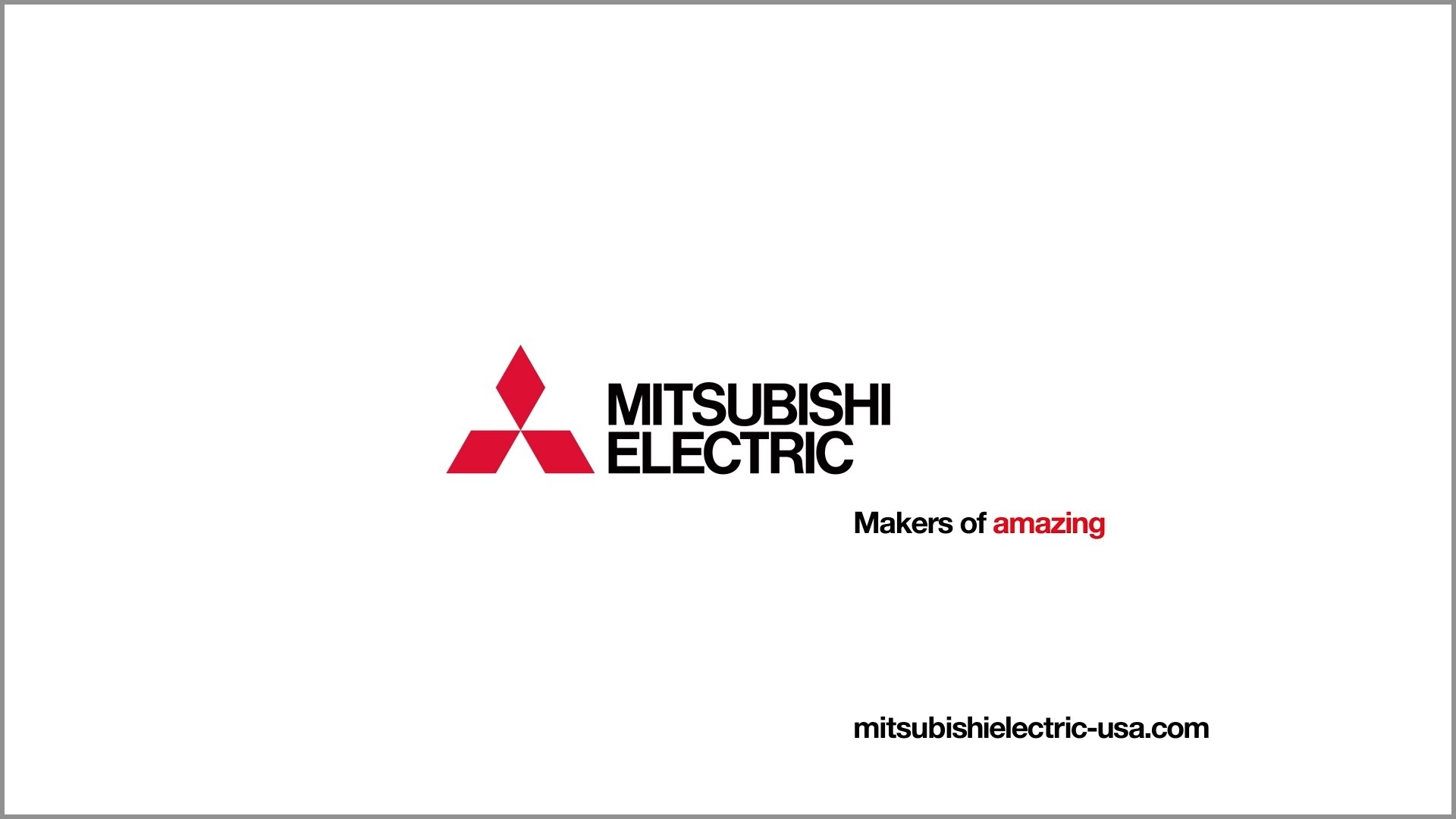 Mitsubishi electric logo – Mitsubishi Electric Makers Of Amazing U S Version