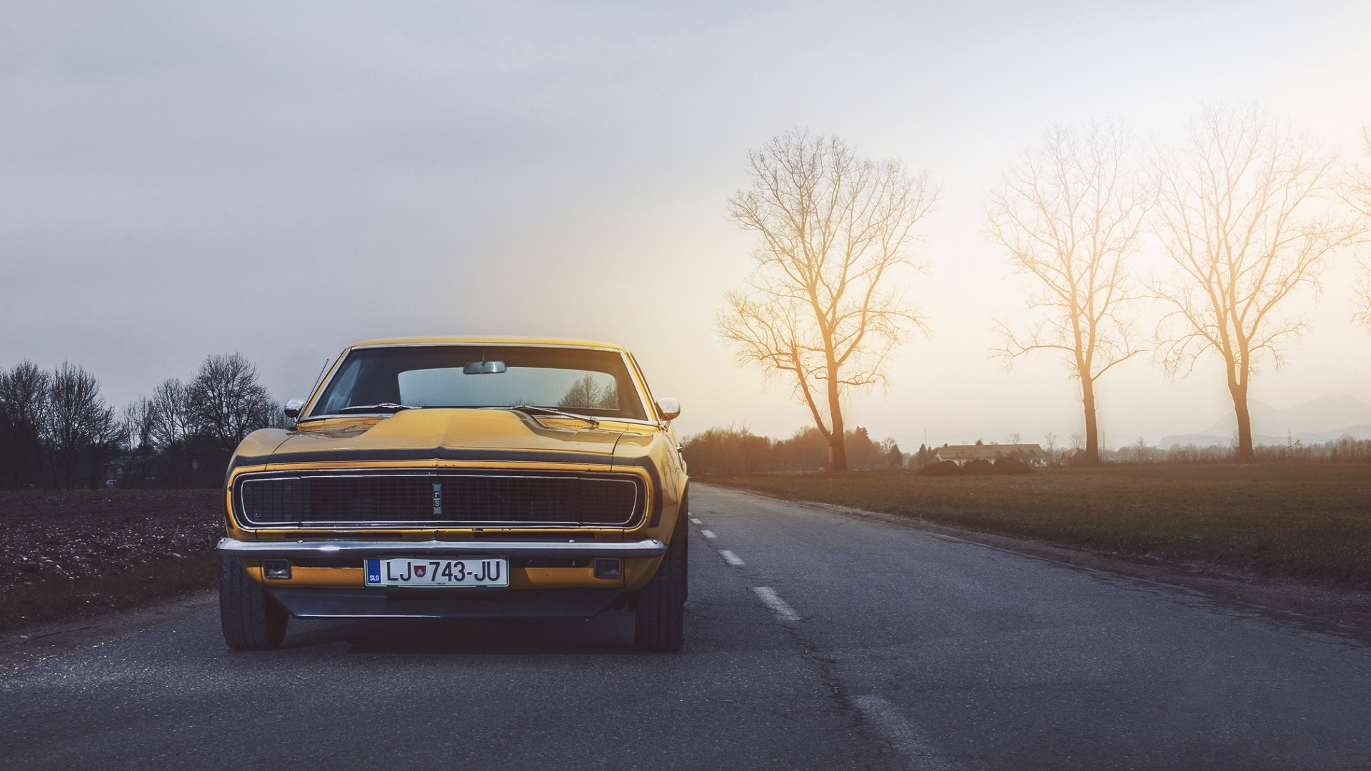Preview wallpaper chevrolet, camaro, rs, 1968 1920×1080