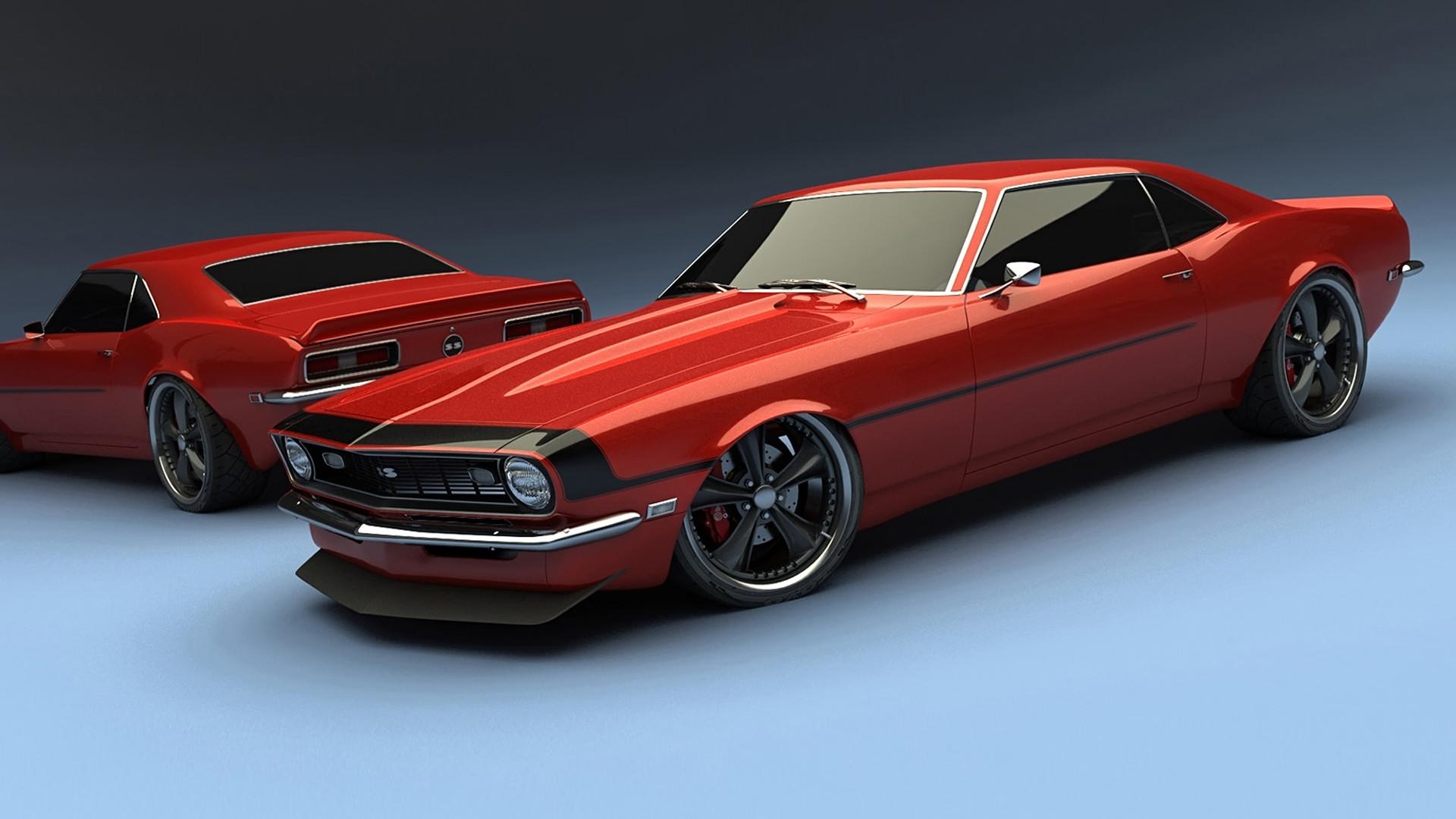 High resolution cars desktop wallpaper of Chevrolet Camaro ss 1969 (ID: