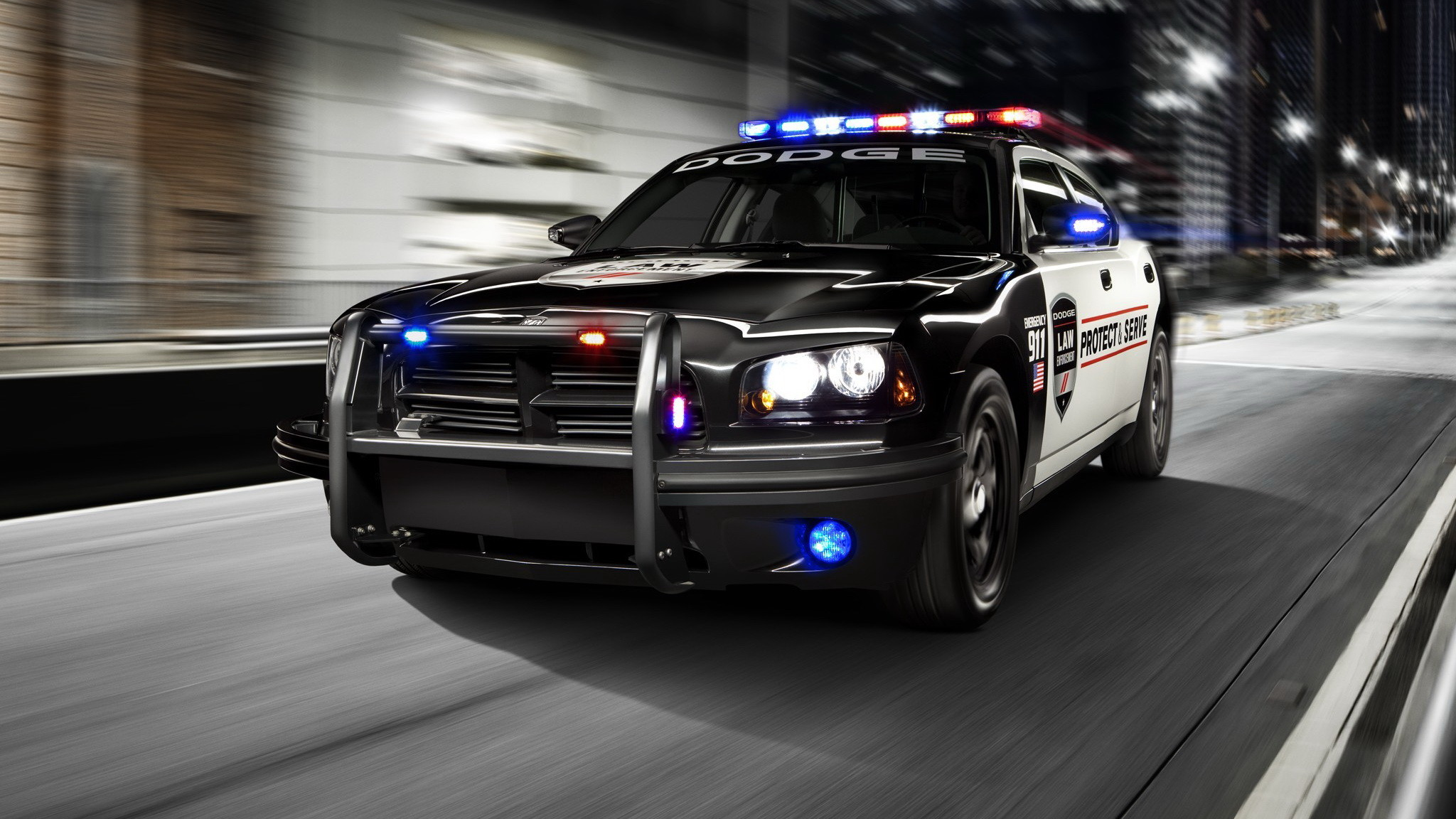 dodge charger police car wallpapers