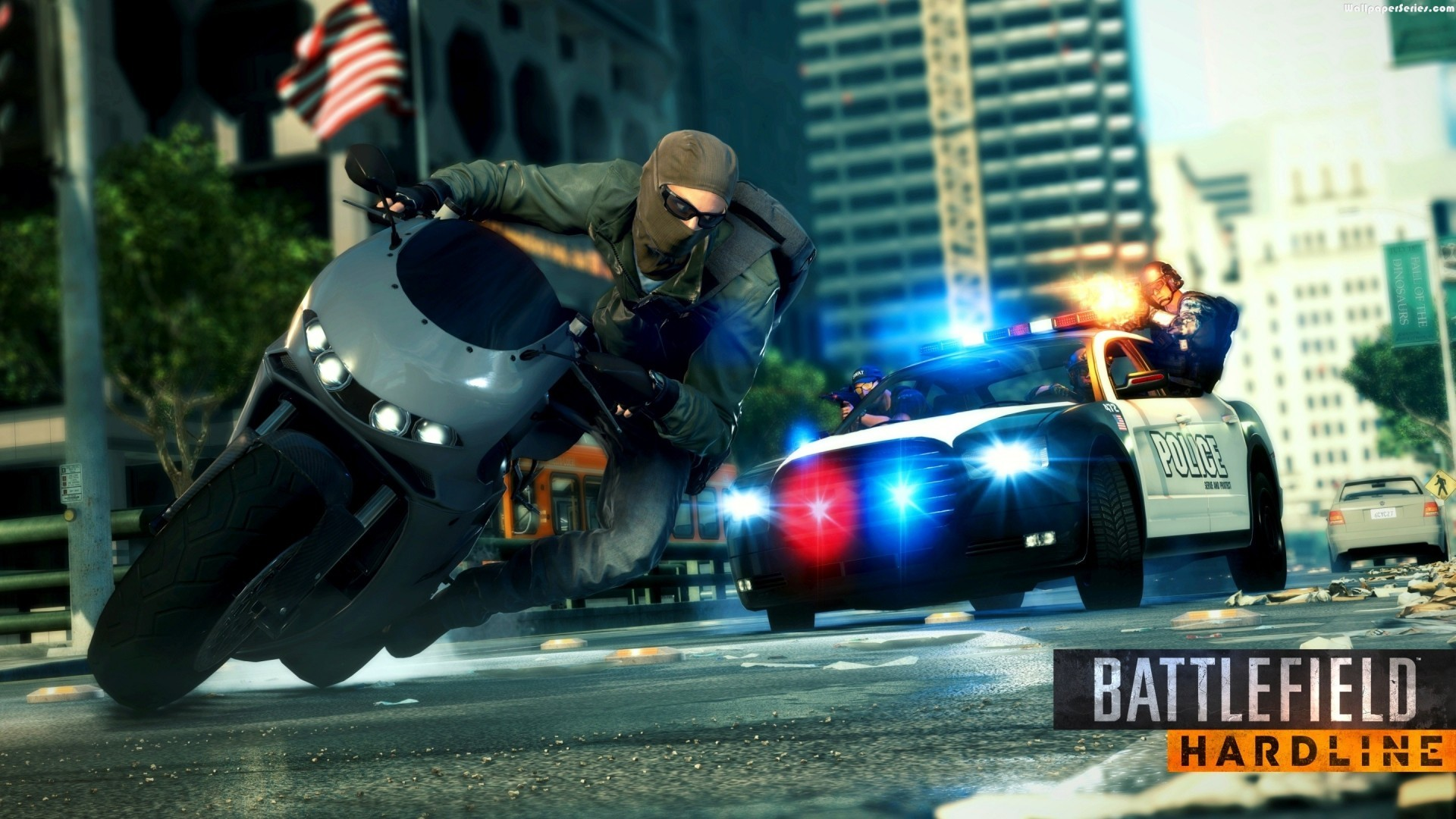 HardLine Game Police Car HD Wallpaper – Stylish HD Wallpapers .