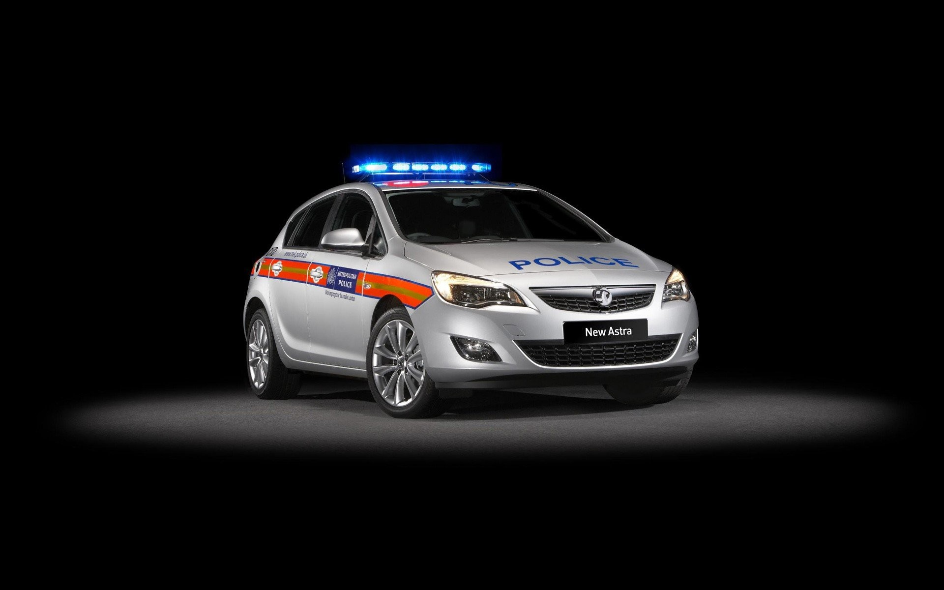 Vauxhall Astra Police Car 483588