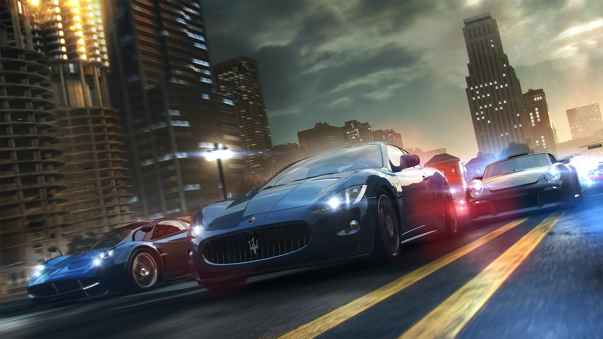 Car Racing Games HD Backgrounds